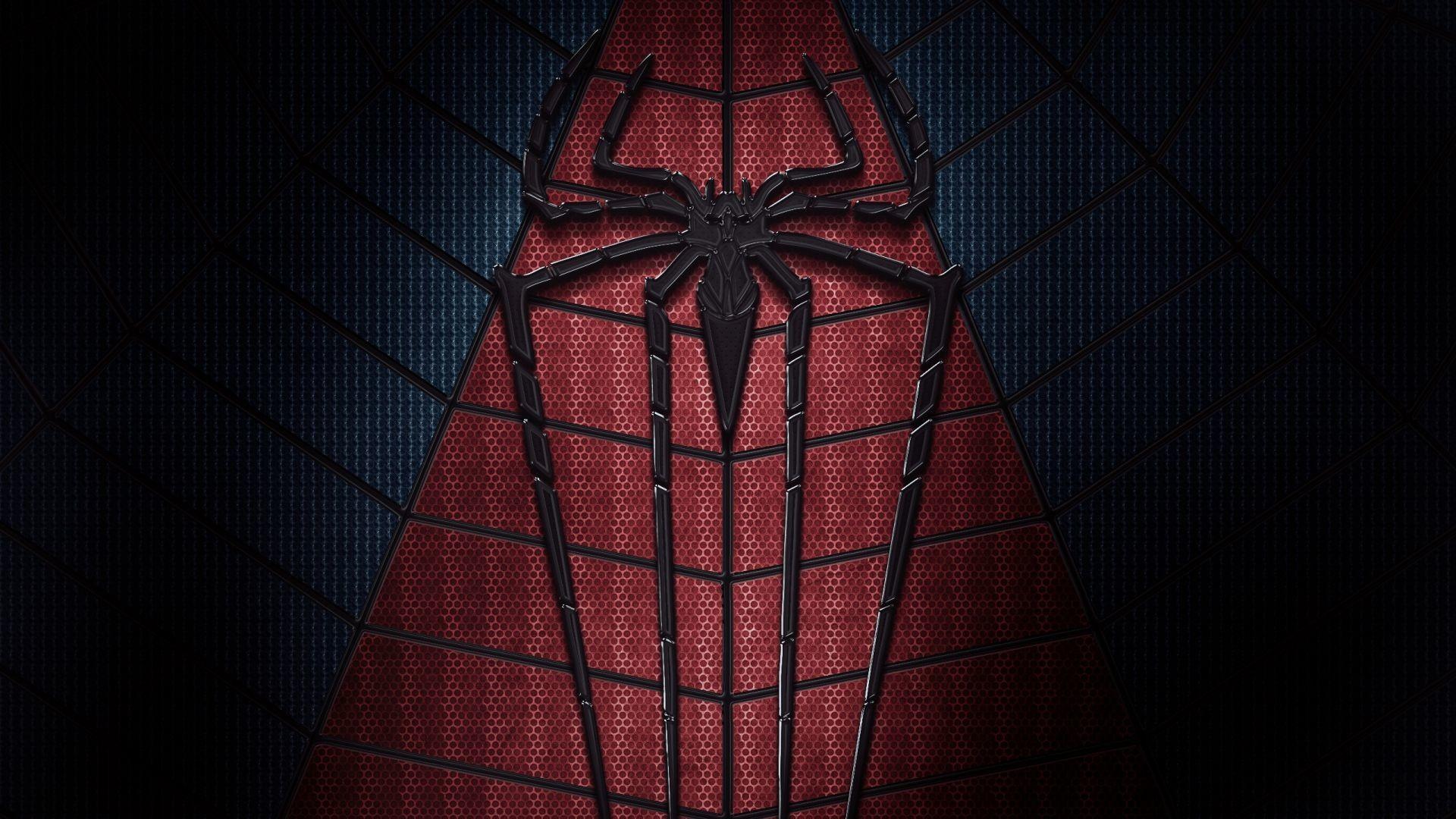 Full HD Wallpaper the amazing spider man comics suit logo, Desktop .