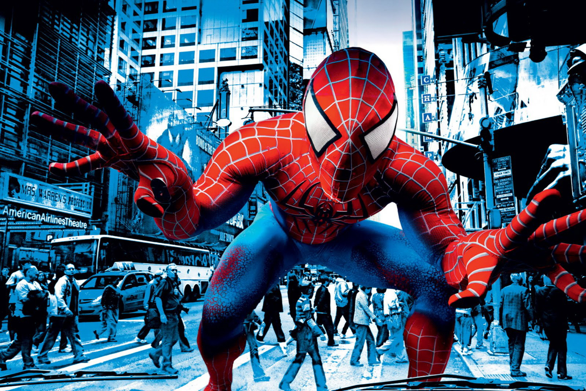 Spider-Man: Edge of Time In Your Face Wallpaper