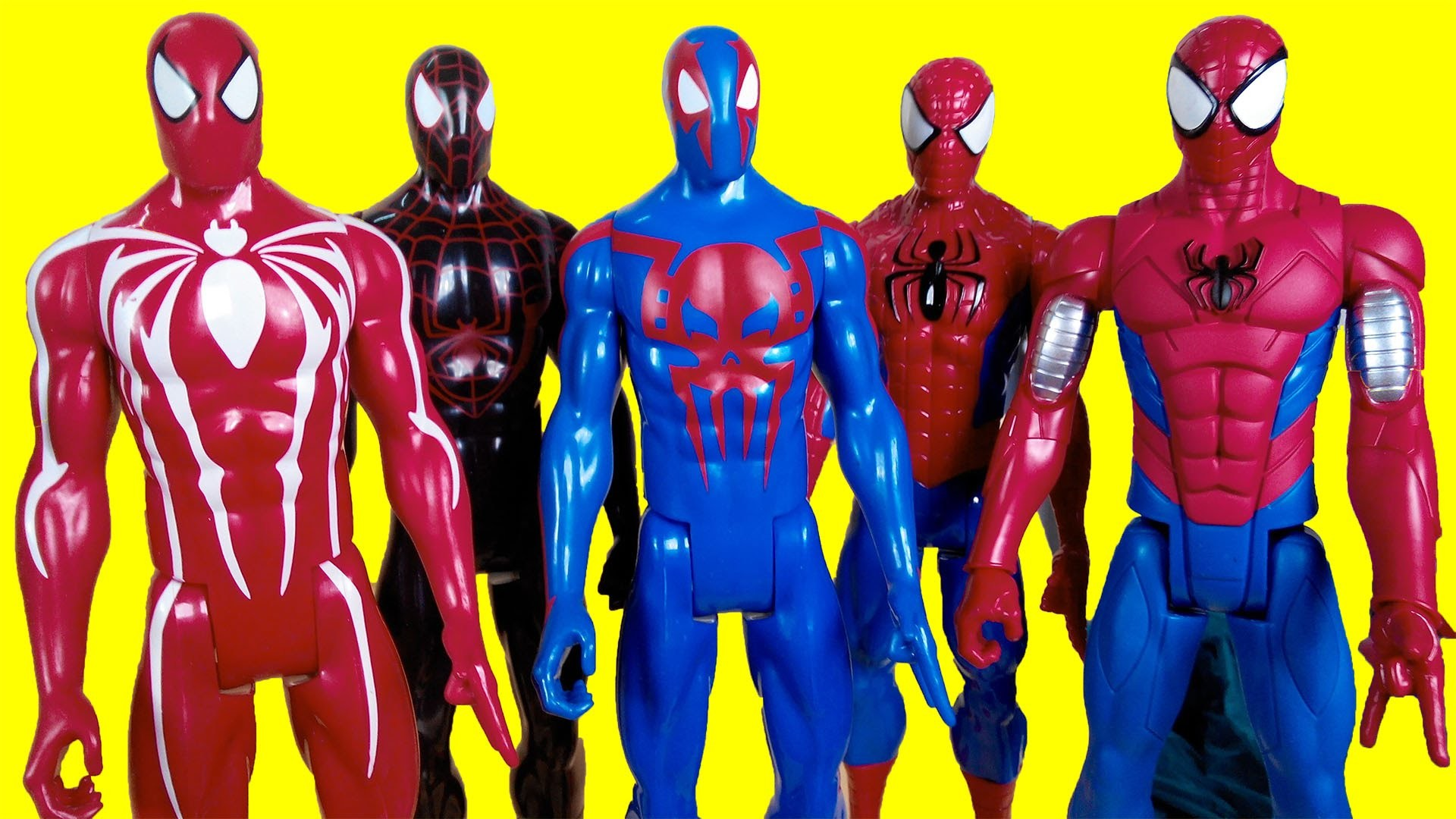 Spiderman with web copter, spider man armor suit, Spider man 2099, Iron  Spider, Spiderman black suit – YouTube