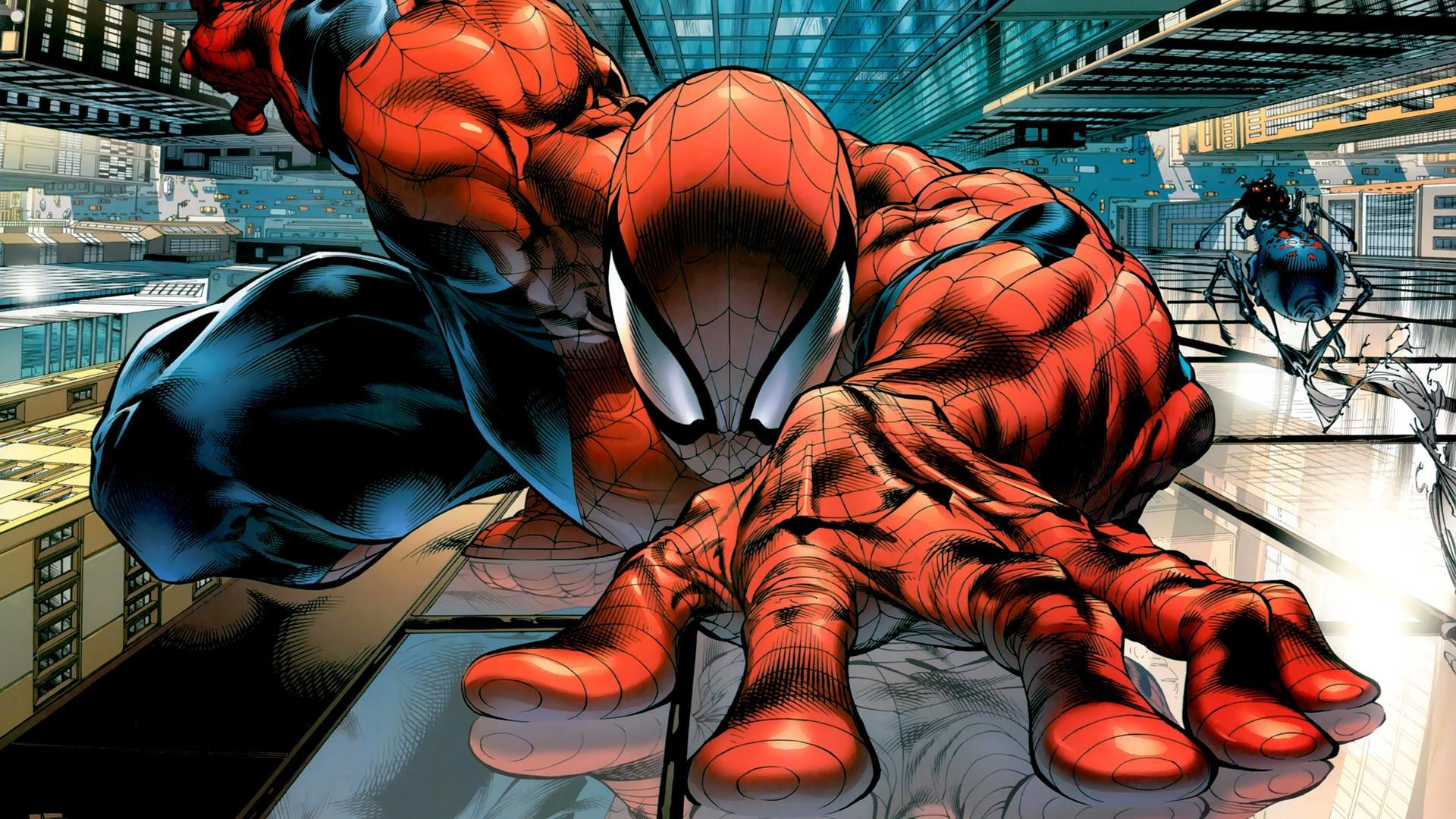 Art Print of SPIDERMAN – Wall Crawler. Wholesale prices on frames. Search  33 Million Art Prints, Posters, and Canvas Wall Art Pieces at Barewalls.