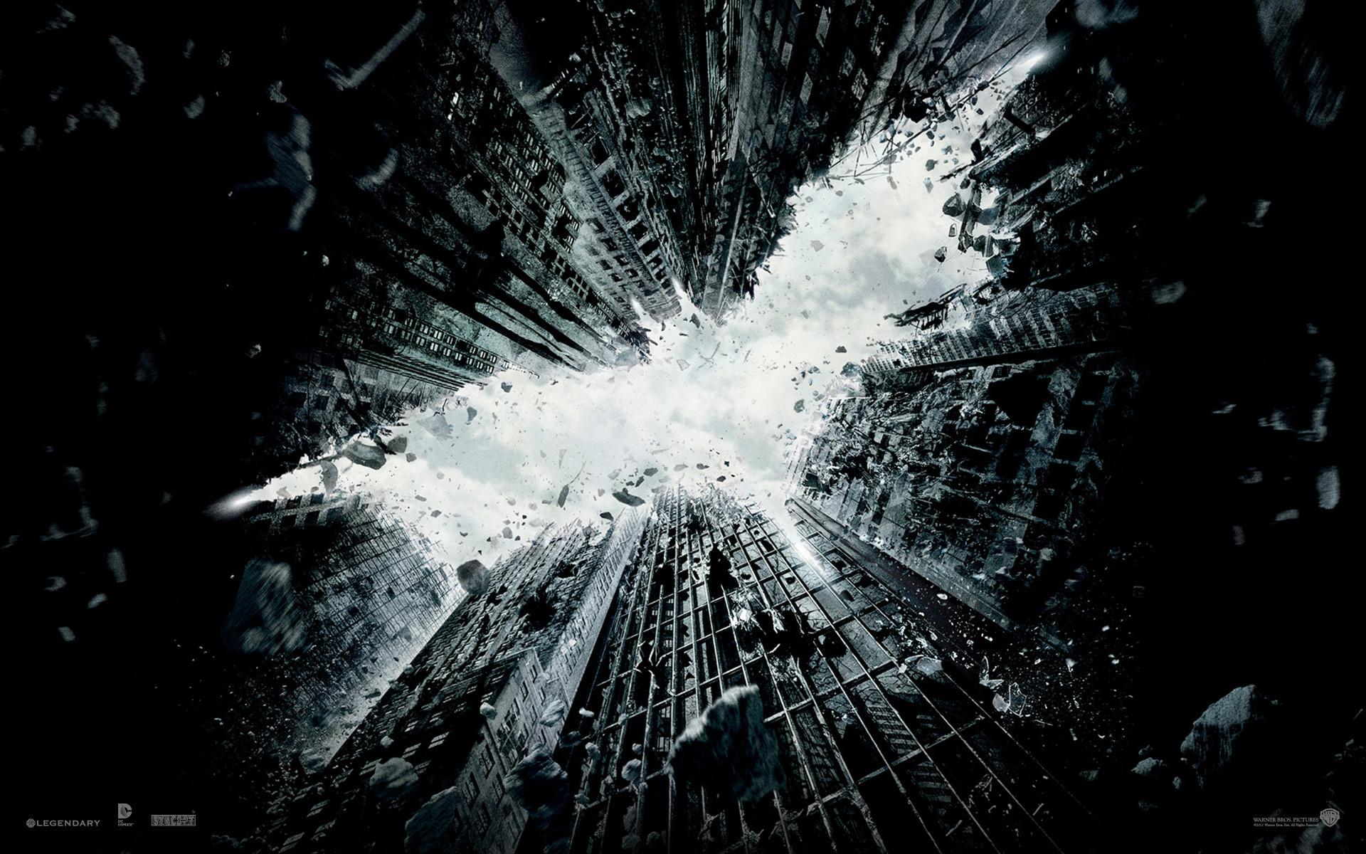 'The Dark Knight Rises' Wallpapers: Decorate Your Desktop, Batman Style