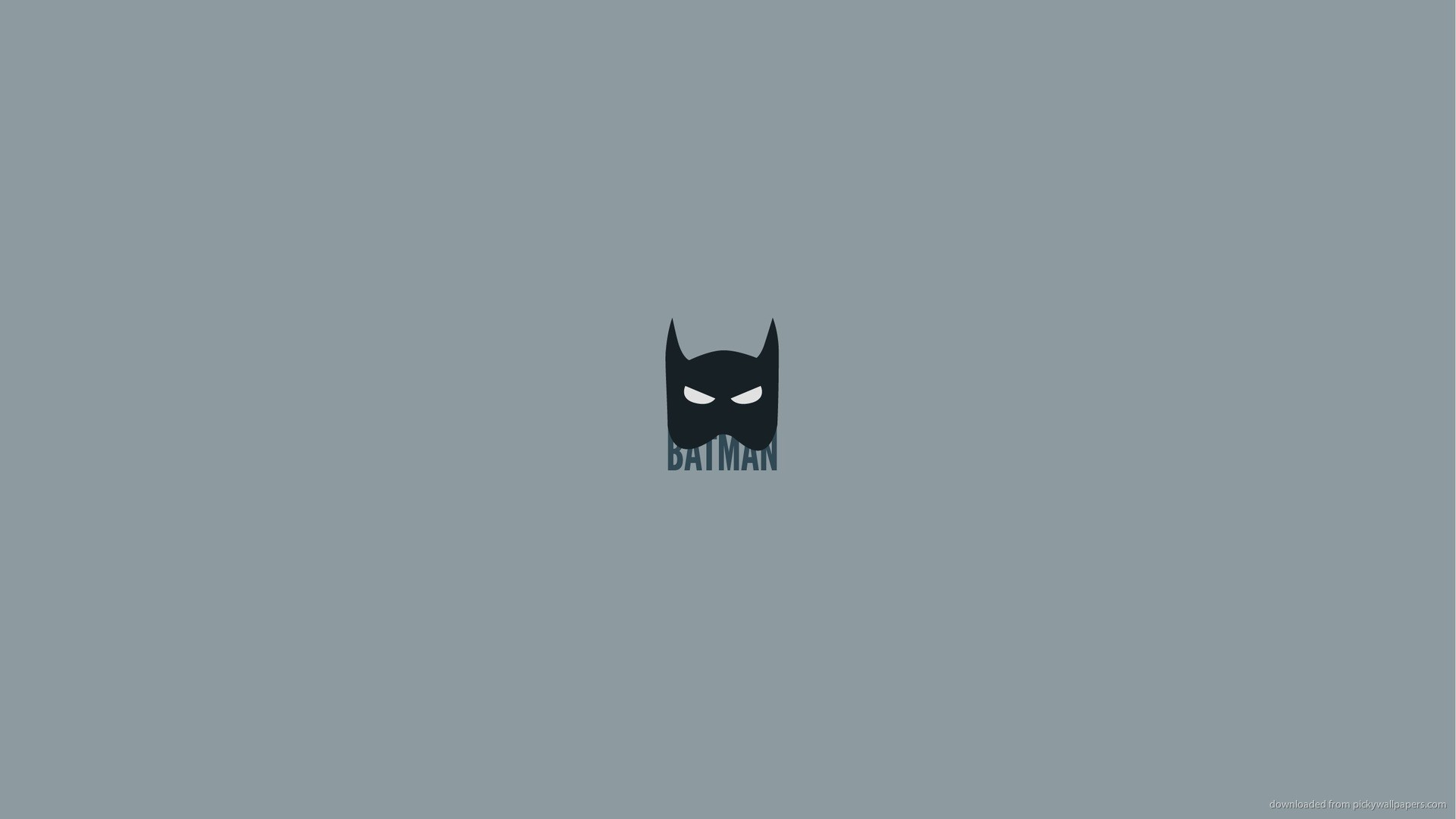 Minimal Batman picture