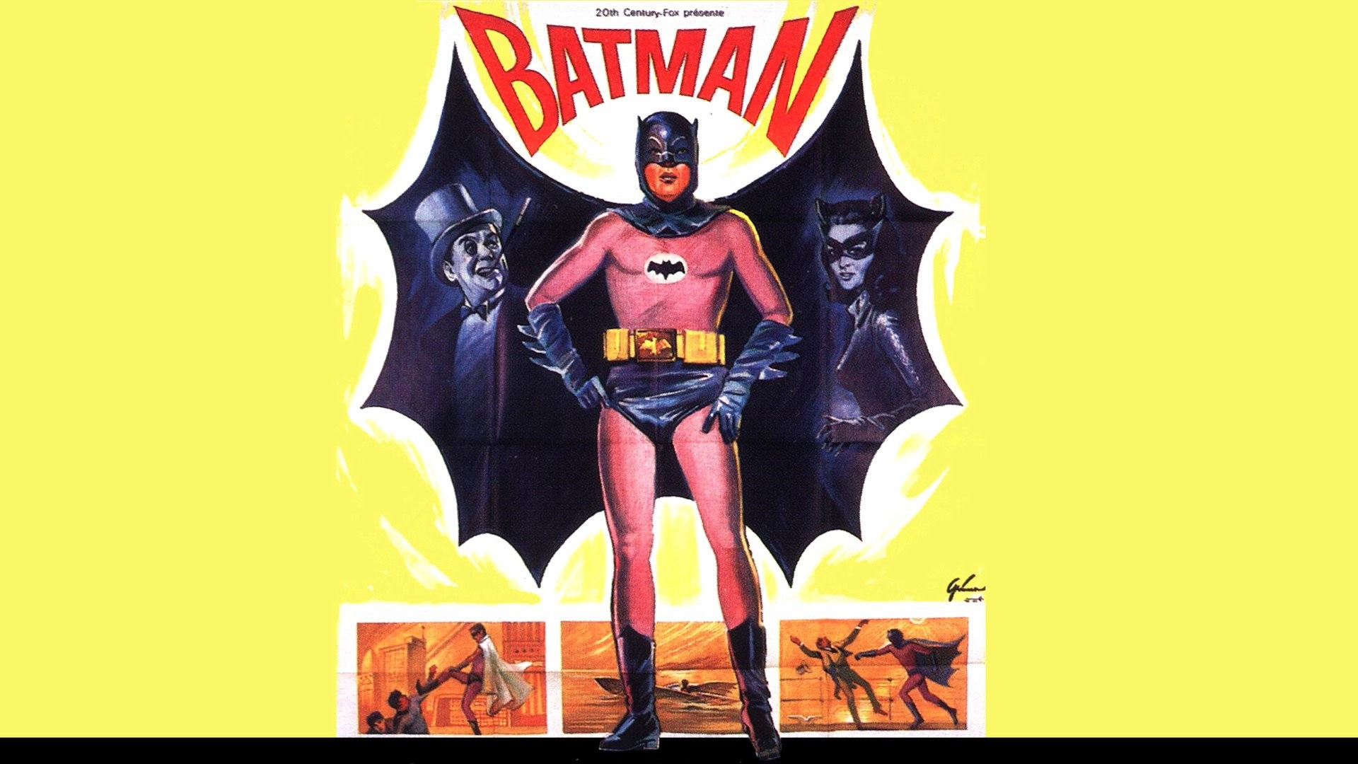 Batman 1966 Movie Poster 662151