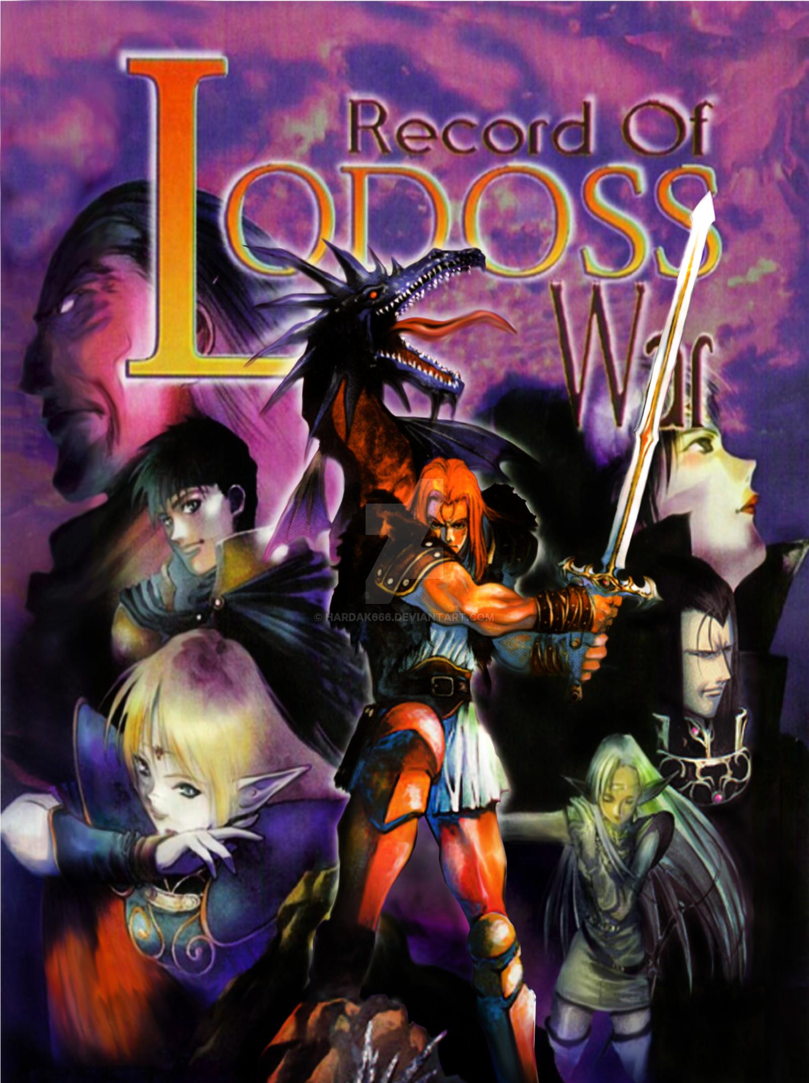 … Record of Lodoss War – Sega Dreamcast by Hardak666