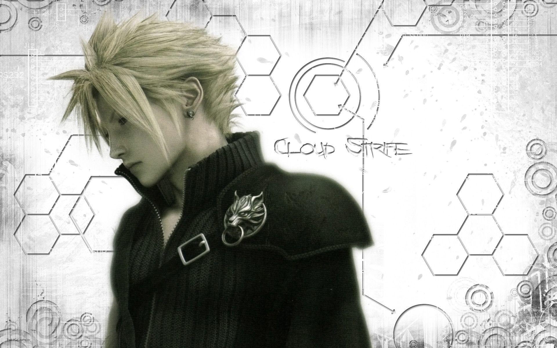 Cloud Strife Final Fantasy Wallpapers | HD Wallpapers | Pinterest | Cloud  strife, Final fantasy and Final fantasy cloud