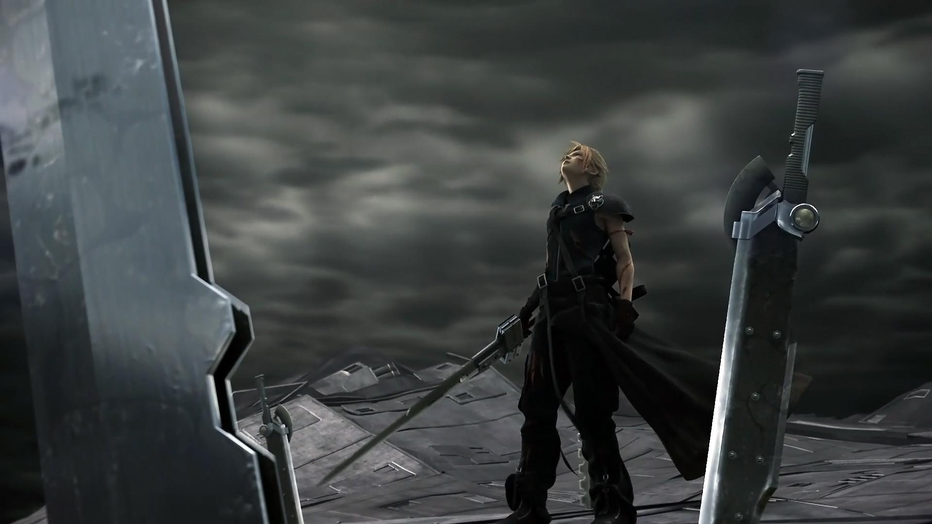 Tags: Anime, Nomura Tetsuya, Final Fantasy VII, Cloud Strife, Buster Sword