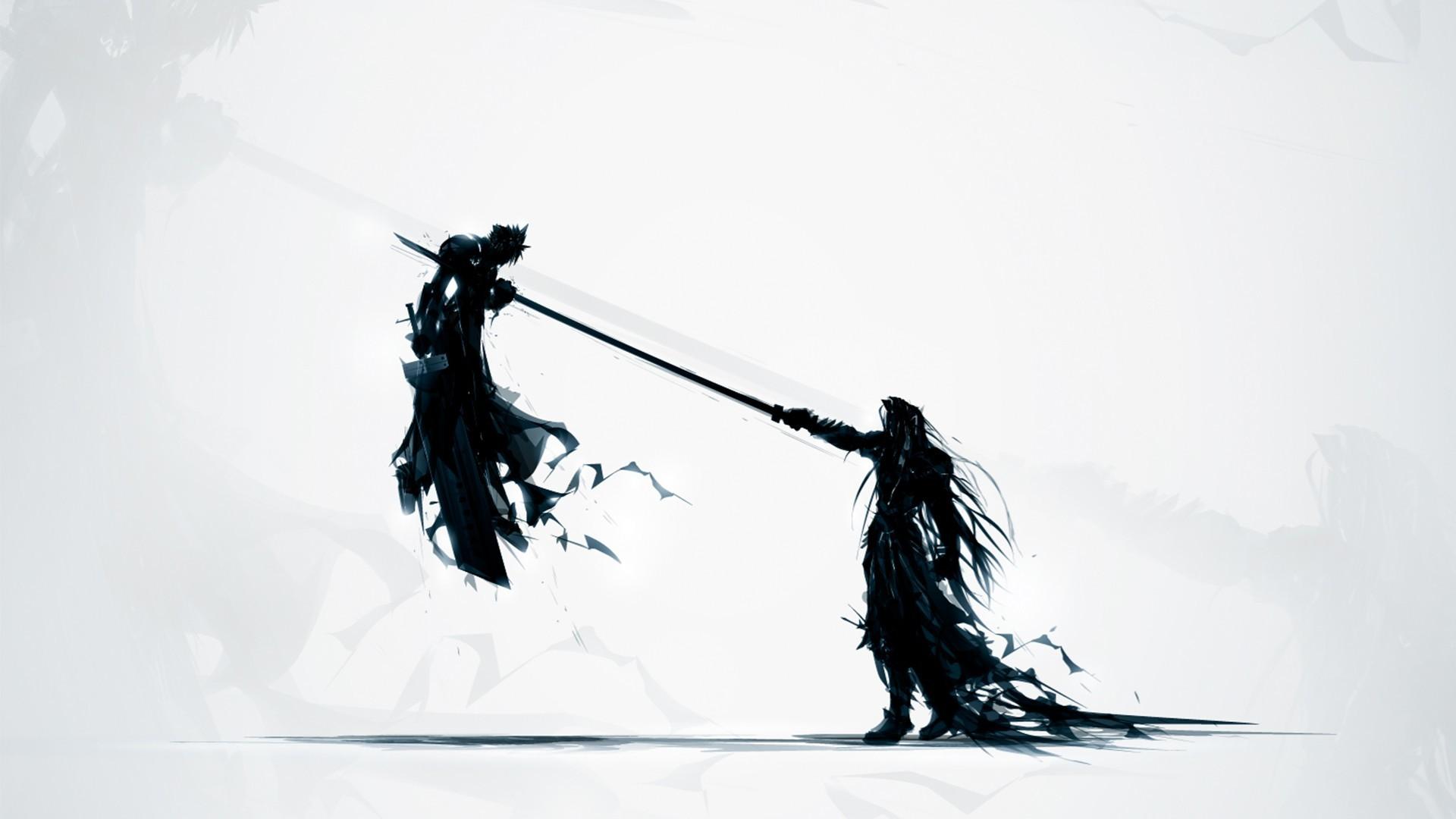 Artwork Cloud Strife Final Fantasy VI PlayStation Sephiroth Video Games …