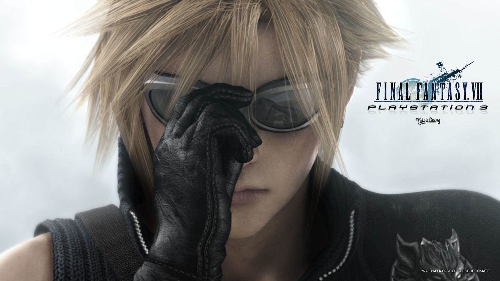 Final Fantasy Cloud Anime – wallpaper.