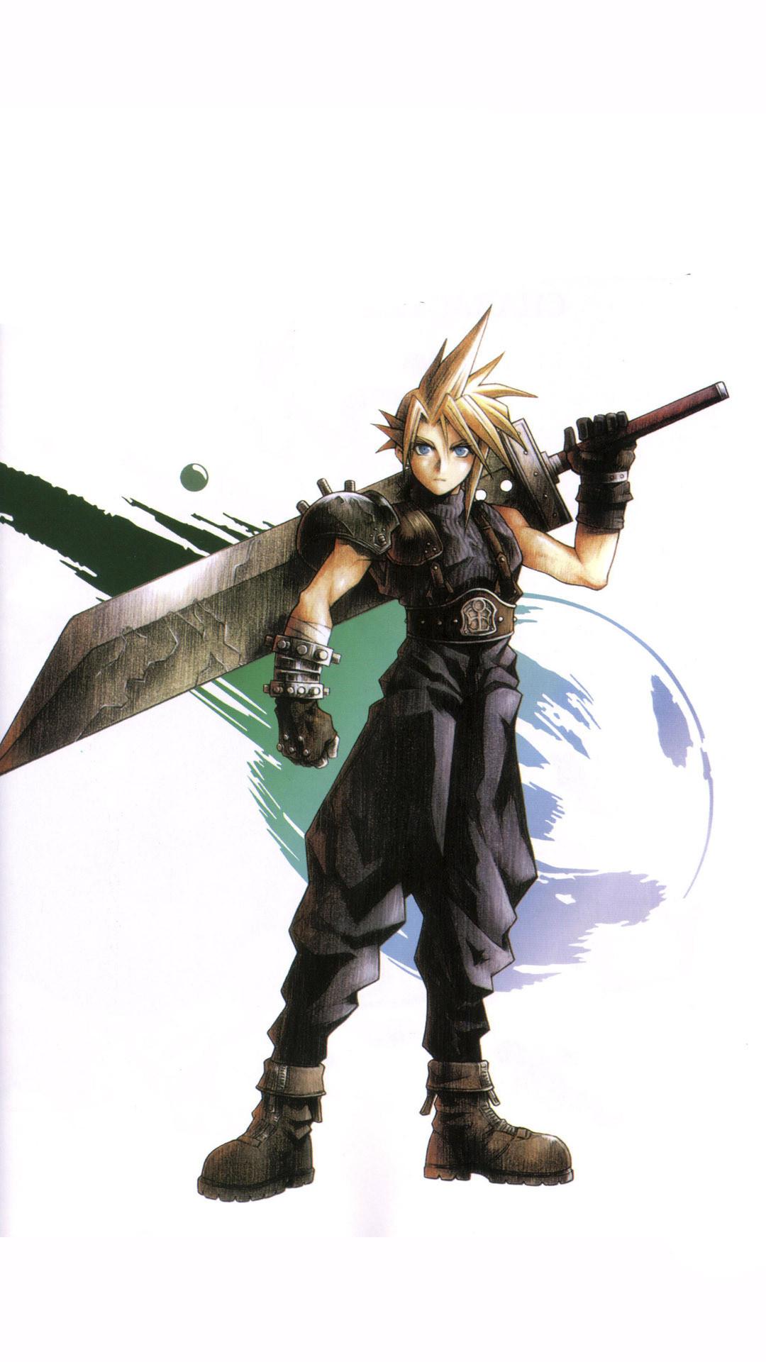 … Cloud Strife – Final Fantasy VII Game mobile wallpaper