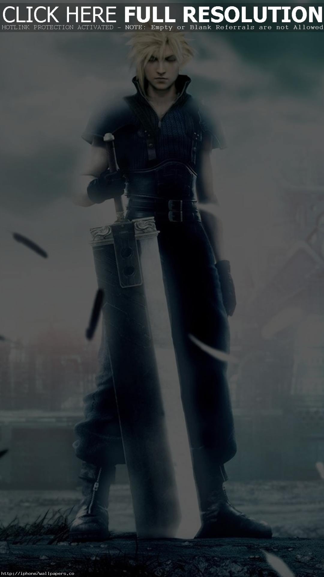Final Fantasy 7 – Cloud Strife Android wallpaper – Android HD wallpapers