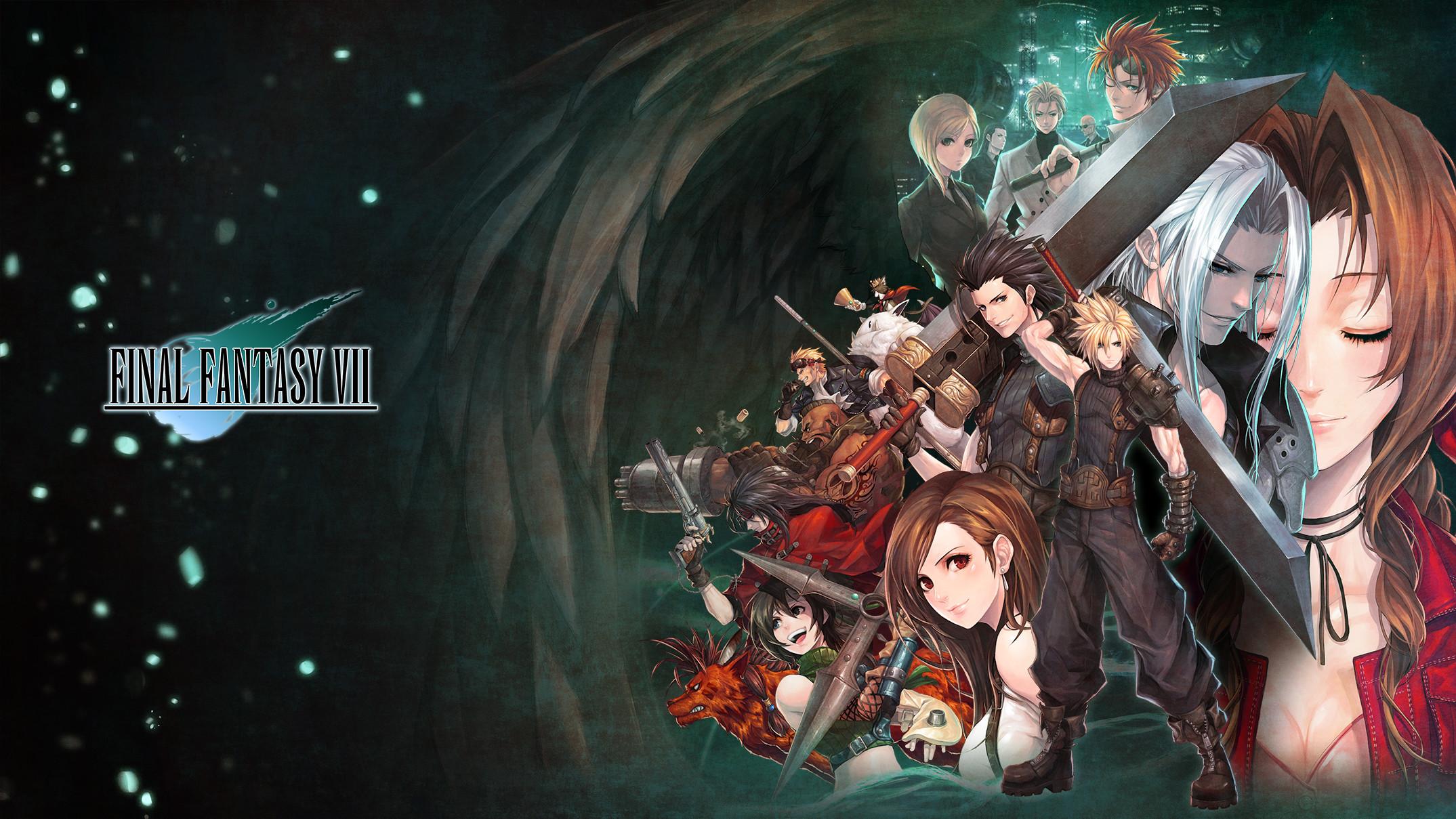 FF VIIAn amazing Final Fantasy 7 wallpaper by E.viL …