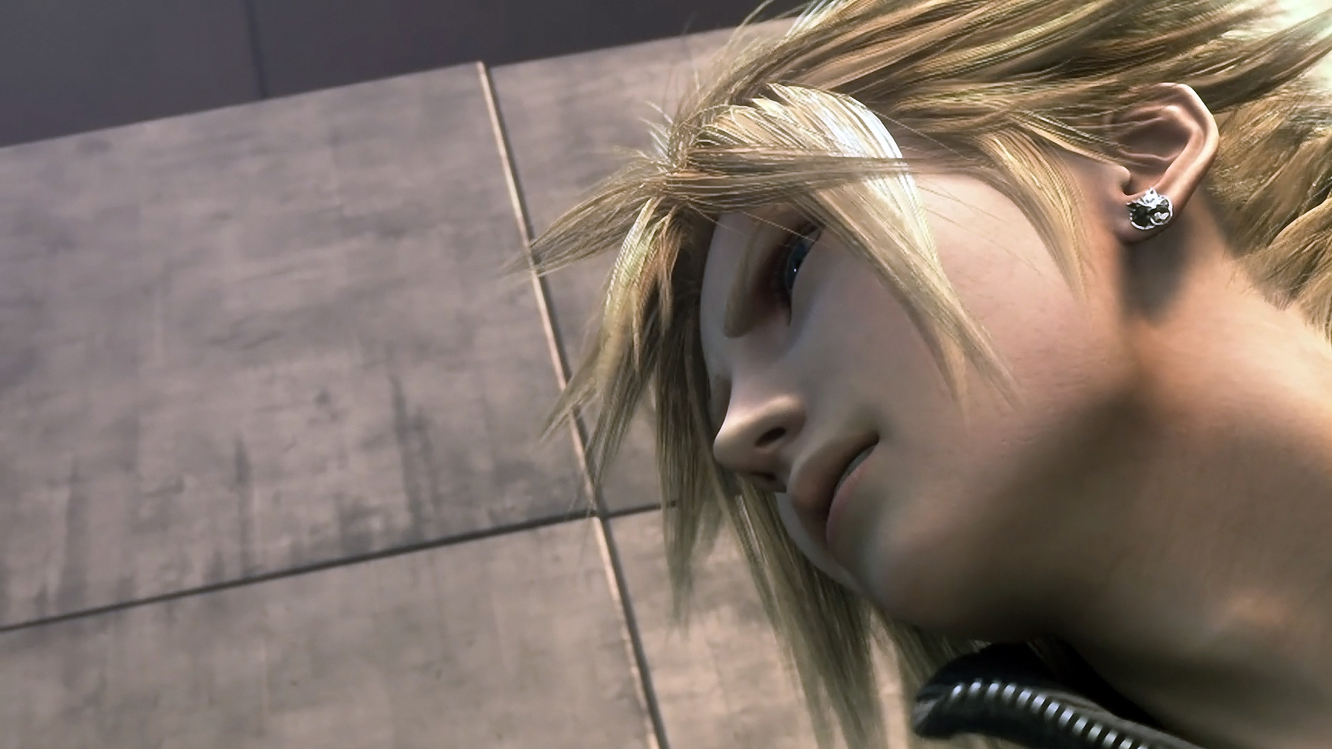 Tags: Anime, Final Fantasy VII, Cloud Strife, Screenshot, Wallpaper, HD