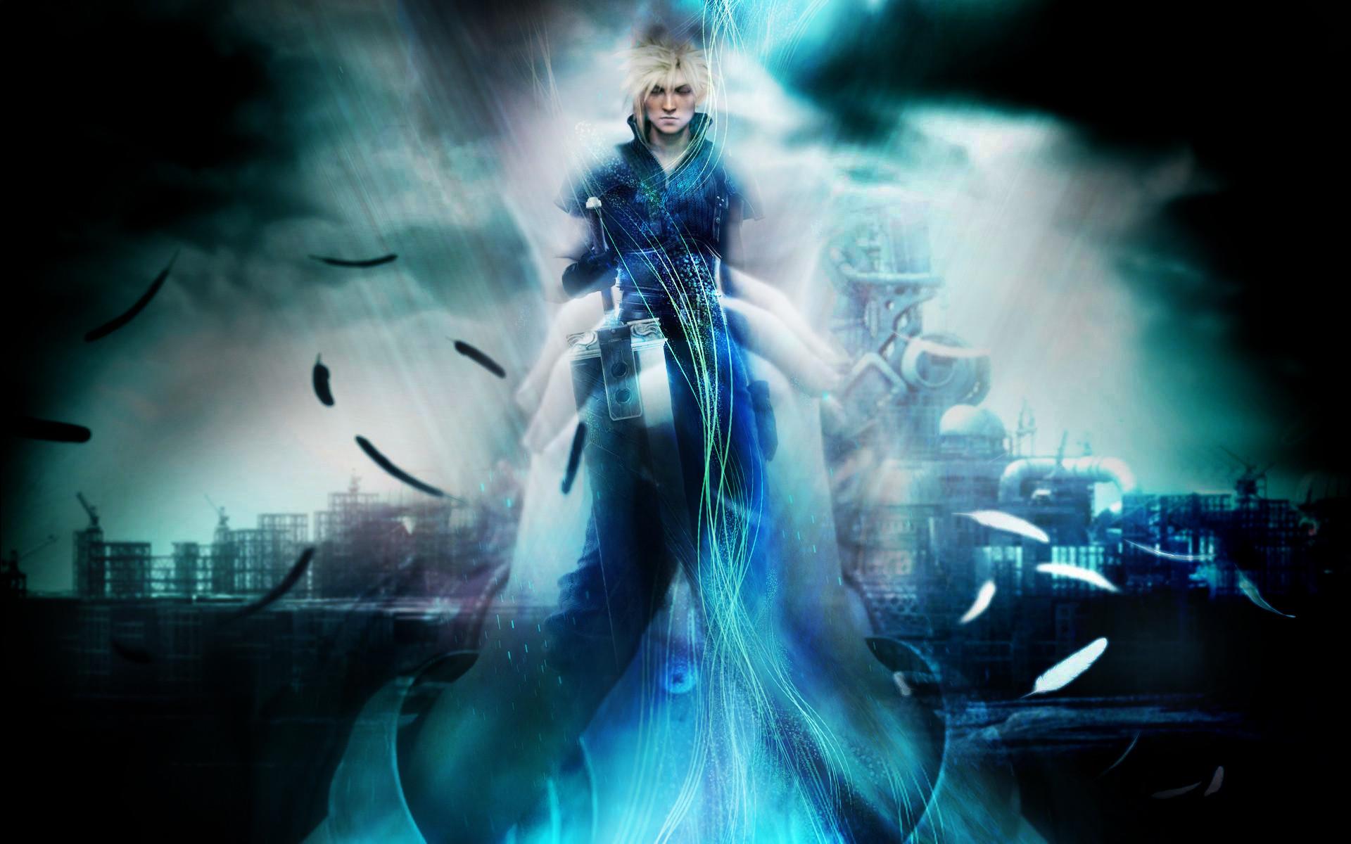Tags: Anime, Final Fantasy VII, Aerith Gainsborough, Cloud Strife,  Lifestream,