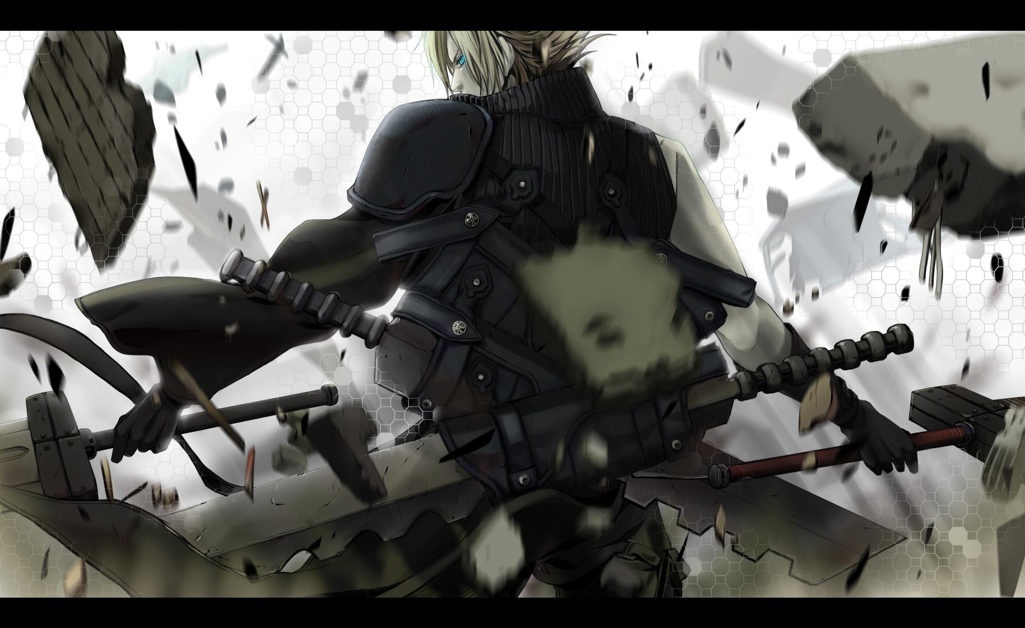 Tags: Anime, Akatuk0211, SQUARE ENIX, Final Fantasy VII, Cloud Strife,
