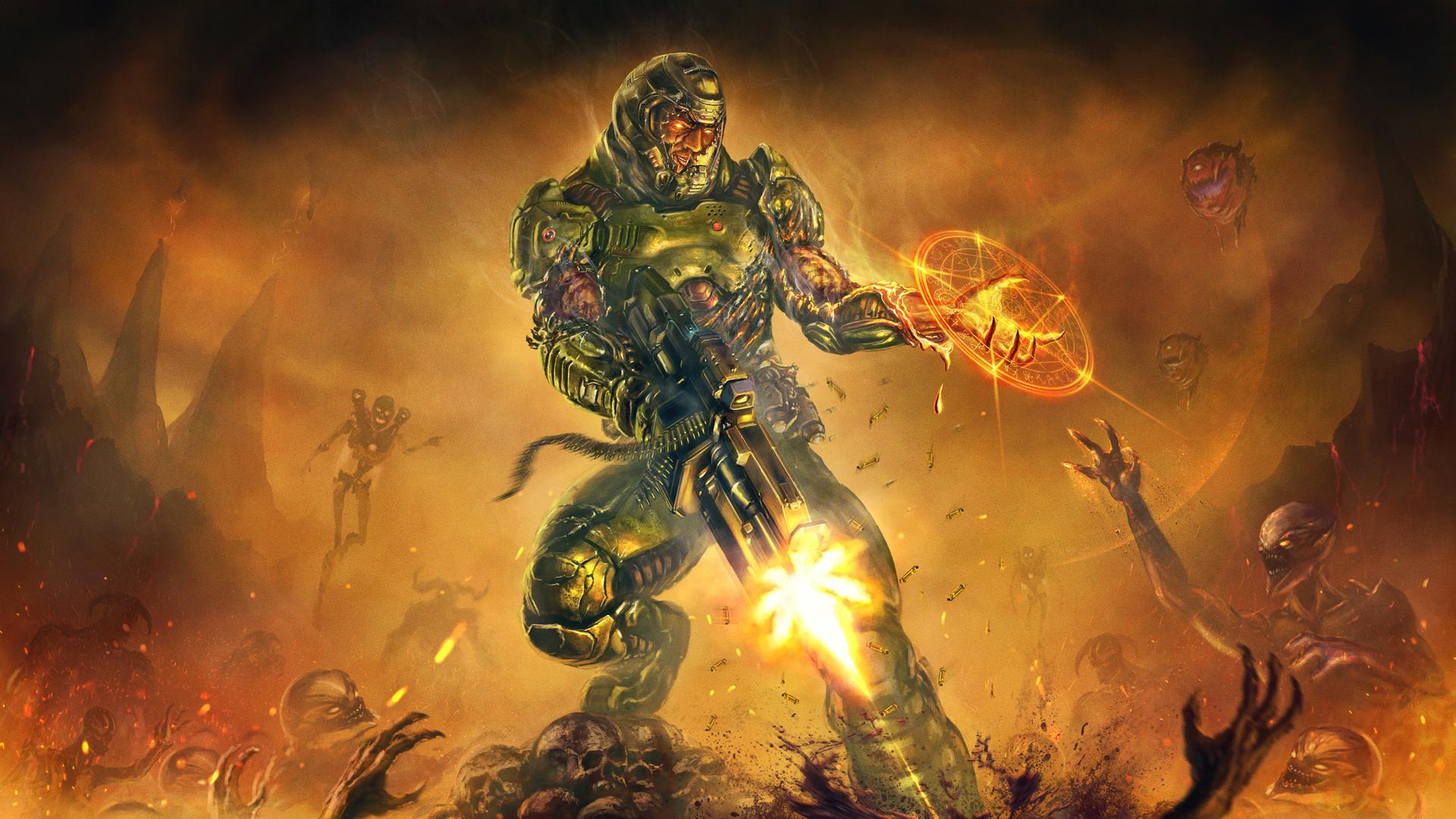 Video Game – Doom (2016) Wallpaper