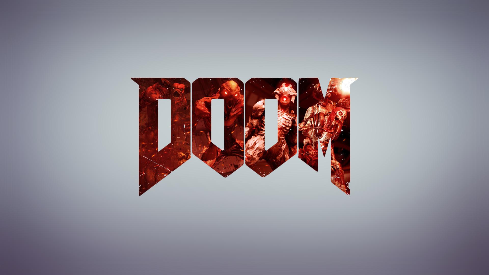 Video Game – Doom (2016) Minimalist Doom Wallpaper