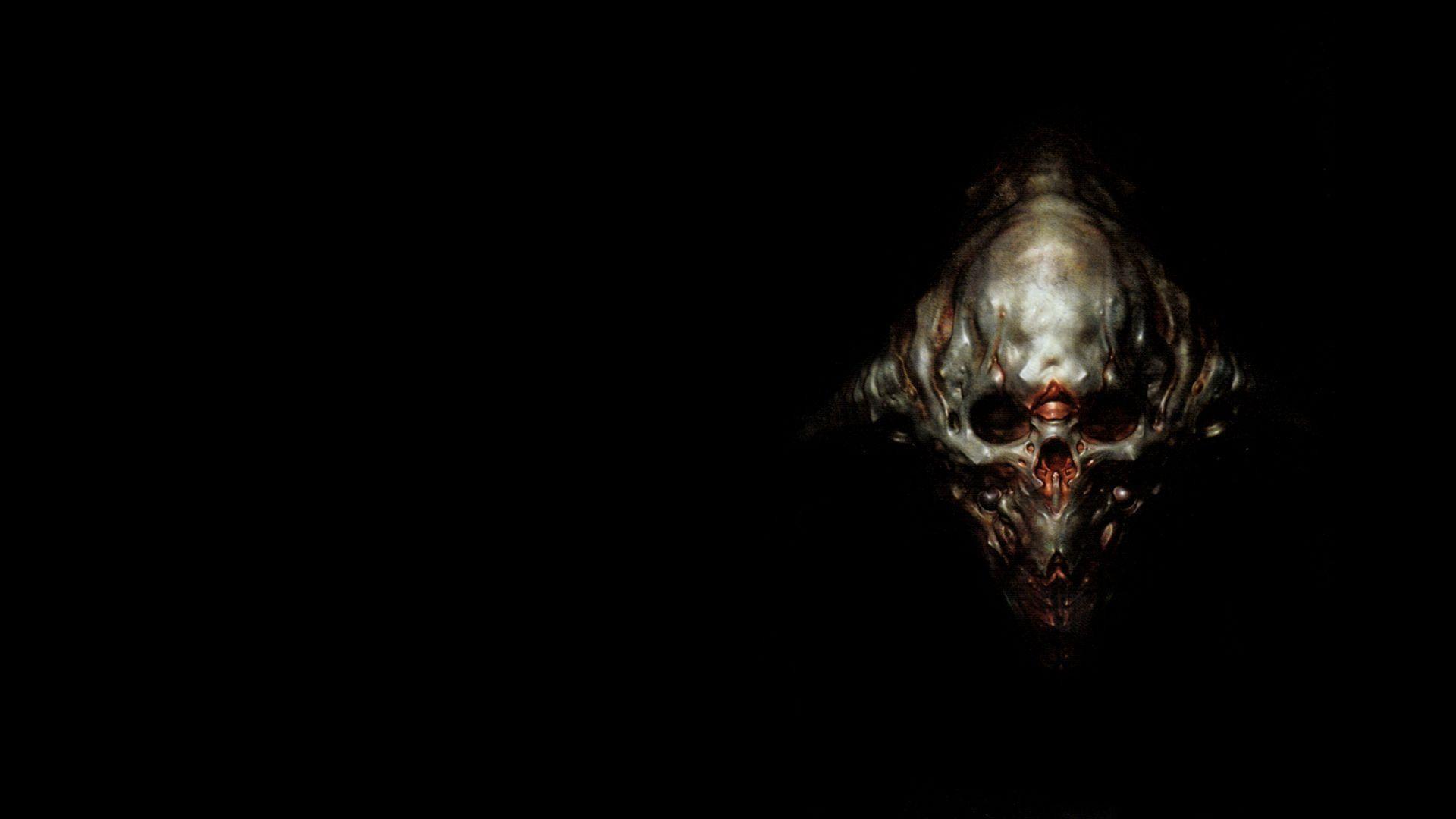 Doom 3 Skull wallpaper
