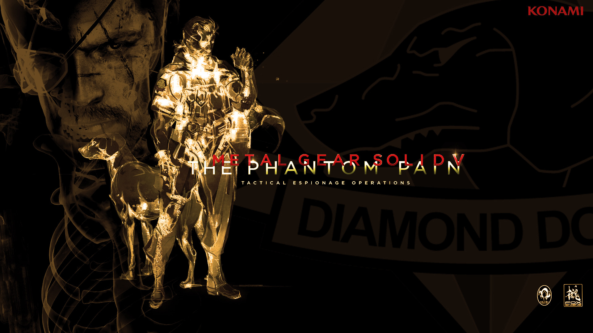 Heres a MGSV The Phantom Pain triple monitor wallpaper I made   Adorable  Wallpapers   Pinterest   Monitor, Wallpaper and Metal gear solid