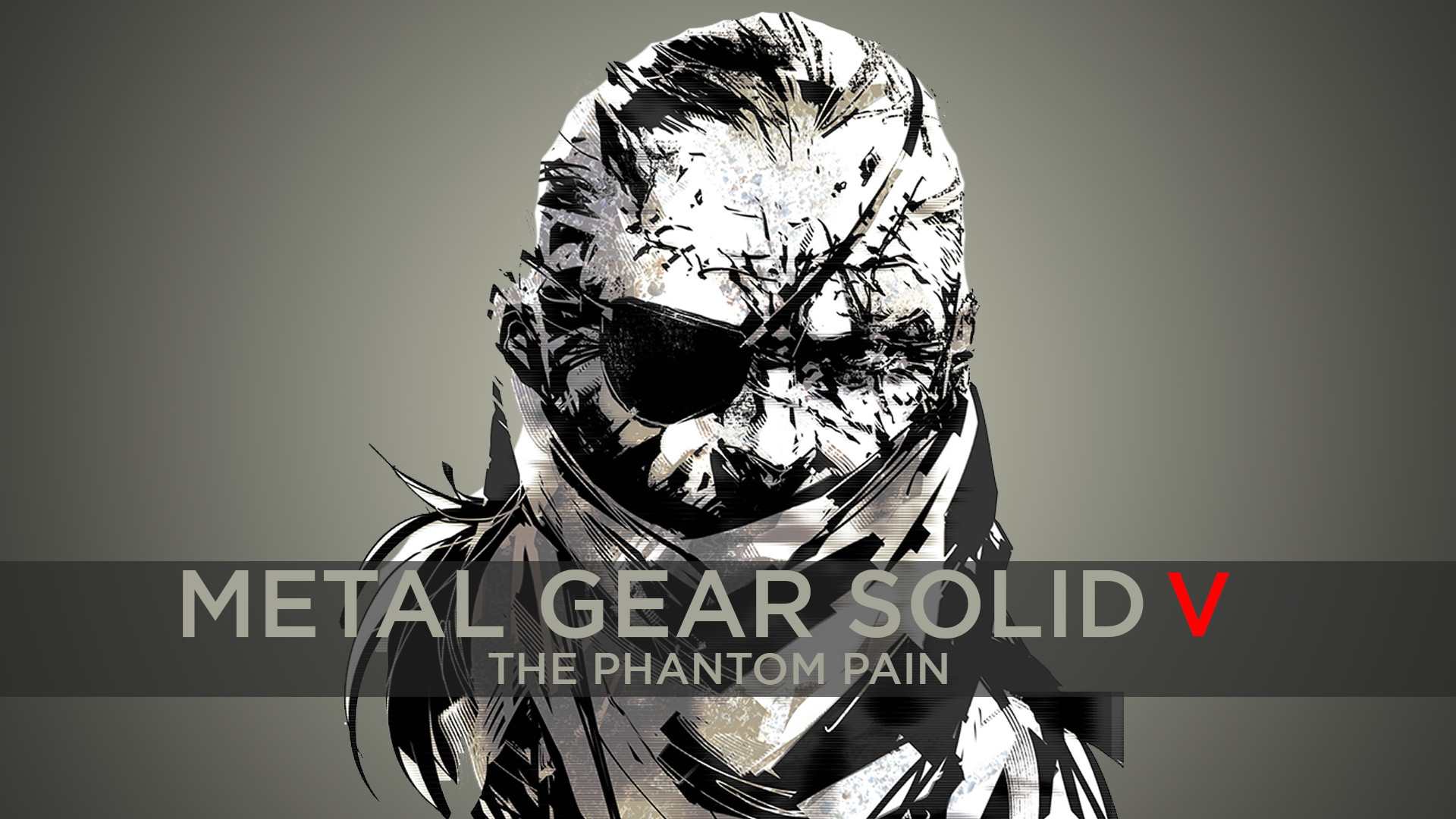 Made a simple MGSV wallpaper inspired by the MGS3 menu color scheme. What  do you guys think?