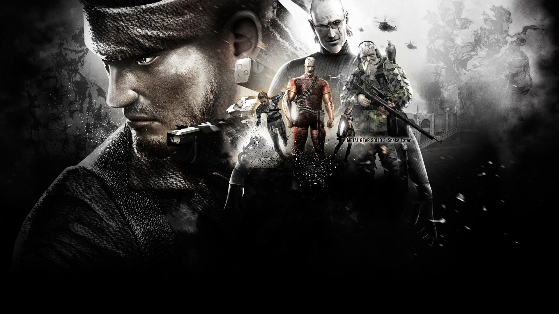 Metal Gear Wallpaper Metal, Gear, Solid, Big, Boss, The,