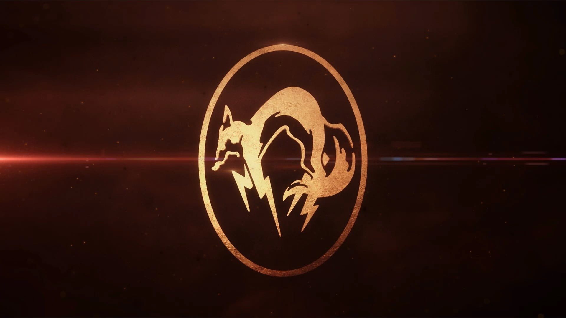 Metal Gear Solid 5 The Phantom Pain fox logo