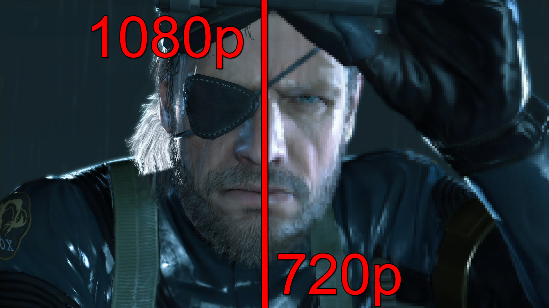 Metal Gear Solid V 1080p vs 720p Screenshot Comparison: Will the Old ..