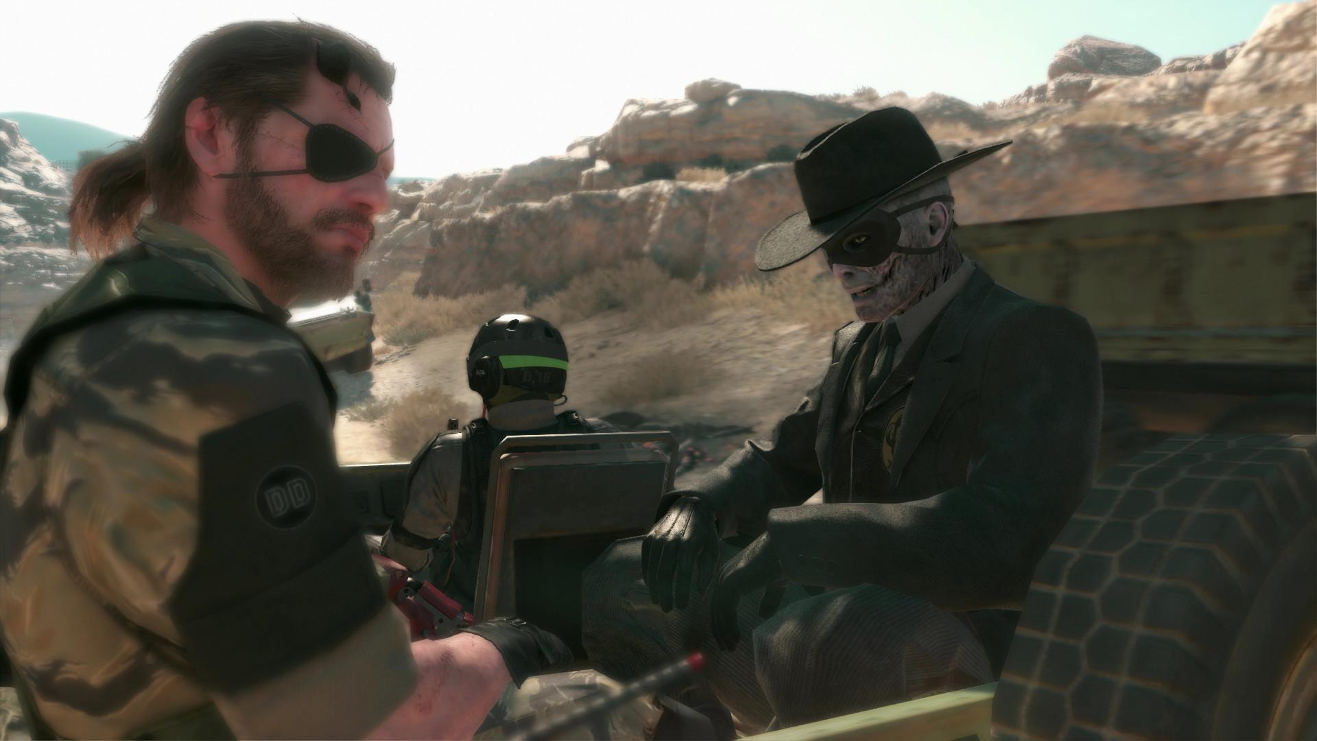Video Game – Metal Gear Solid V: The Phantom Pain Metal Gear Solid Big Boss
