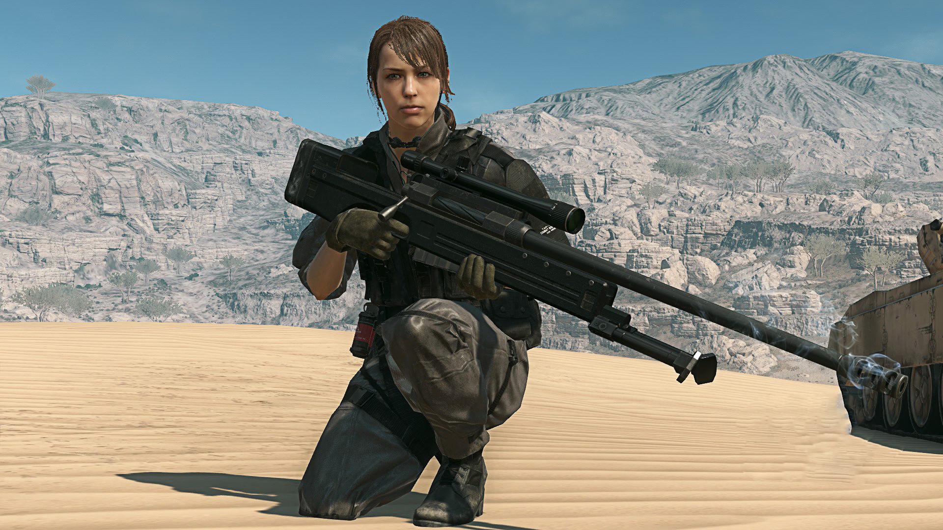 Quiet Metal Gear Solid V The Phantom Pain #ThePhantomPain #MetalGearSolidV  #DiamondDogs #MGSV