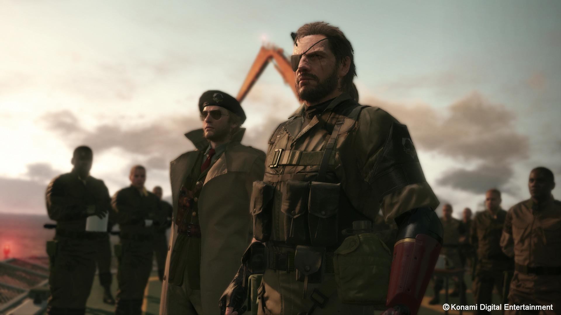 Video Game – Metal Gear Solid V: The Phantom Pain Metal Gear Solid Wallpaper