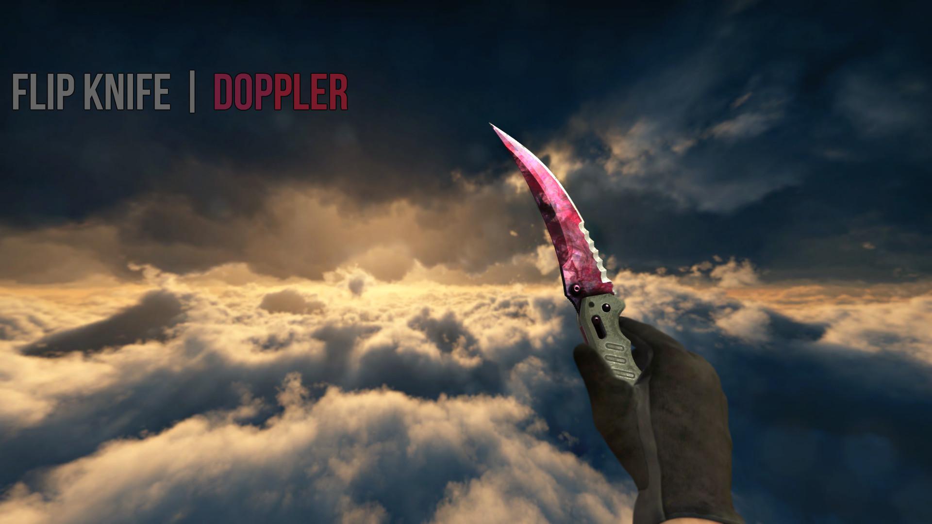 Flip Knife doppler