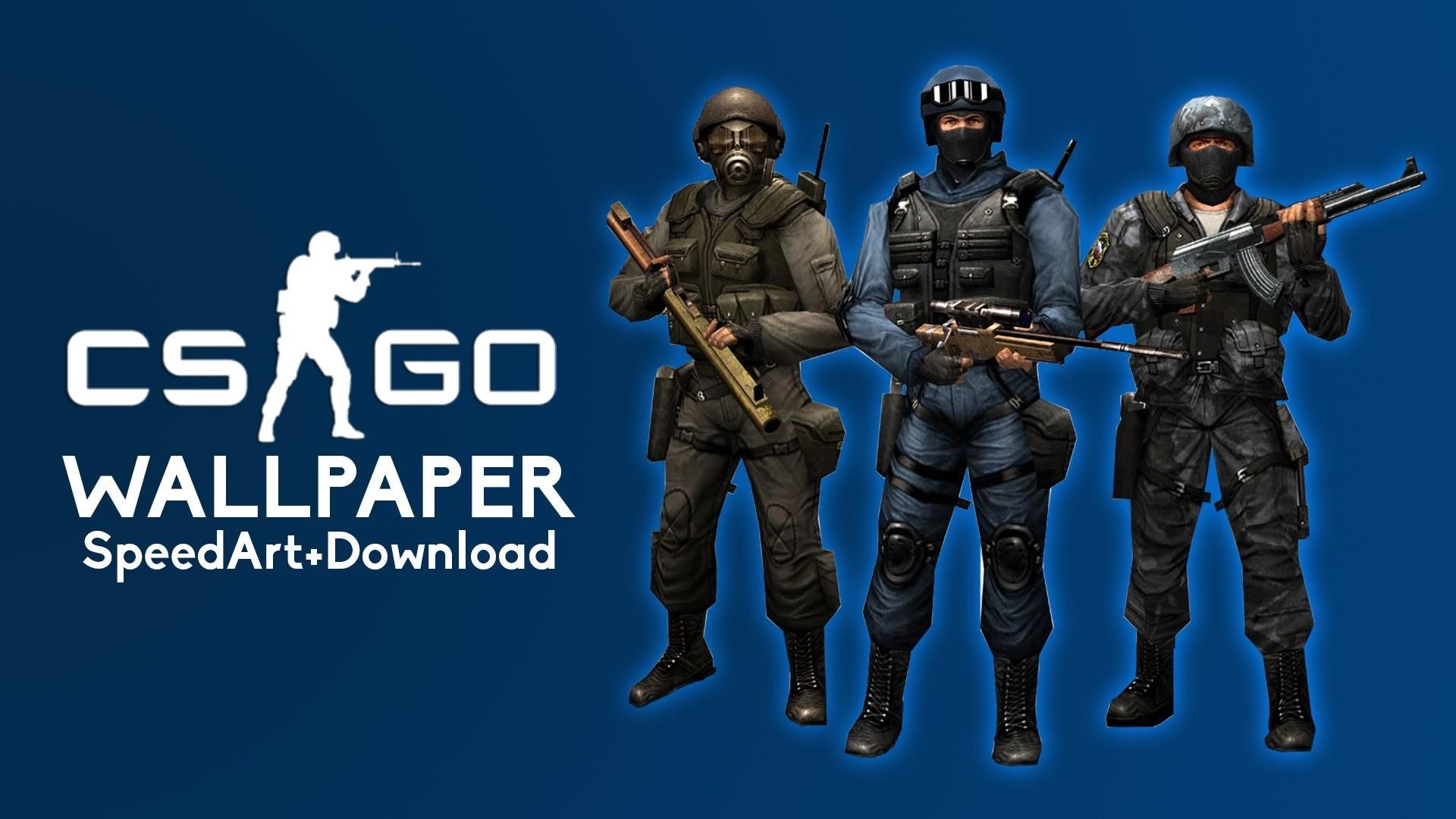 CS:GO (Counter Strike: Global Offensive) Wallpaper (SpeedArt+Download)