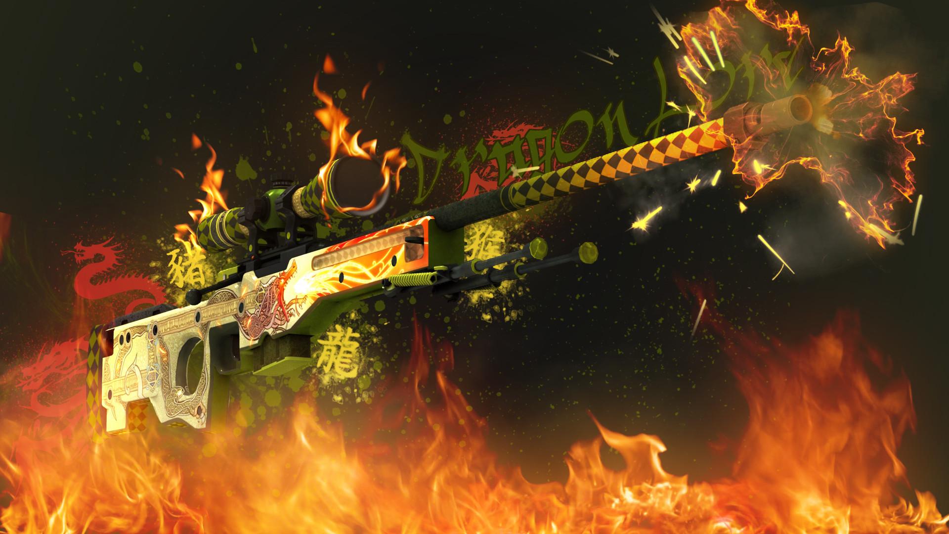 AWP Dragon Lore   CS:GO Wallpapers