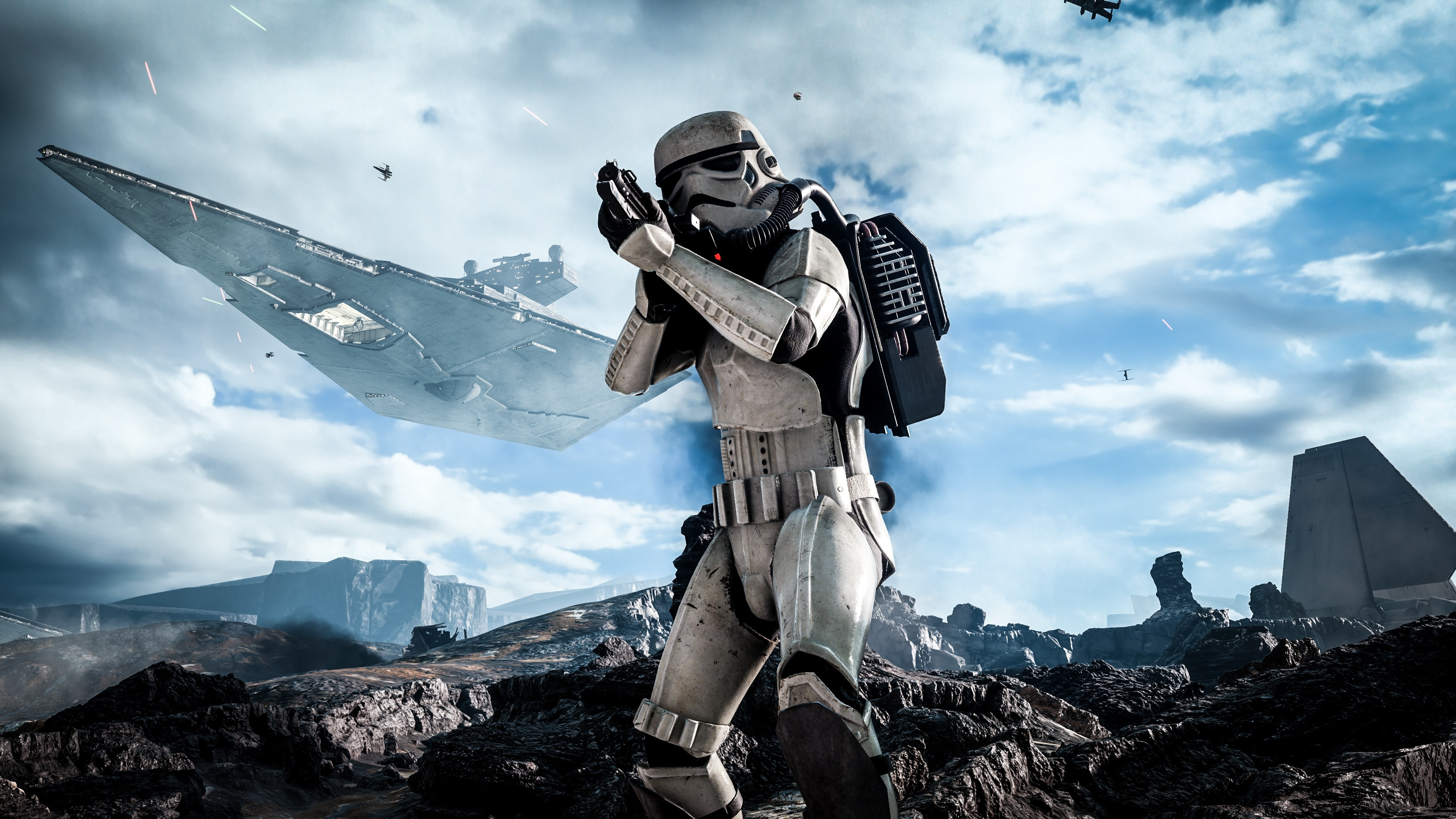 Preview wallpaper star wars, battlefront, electronic arts 3840×2160