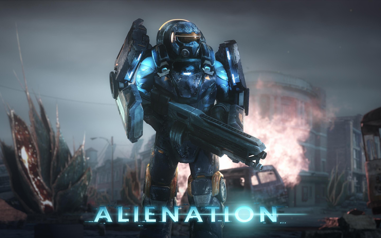 Alienation PS4 Game 4K 8K