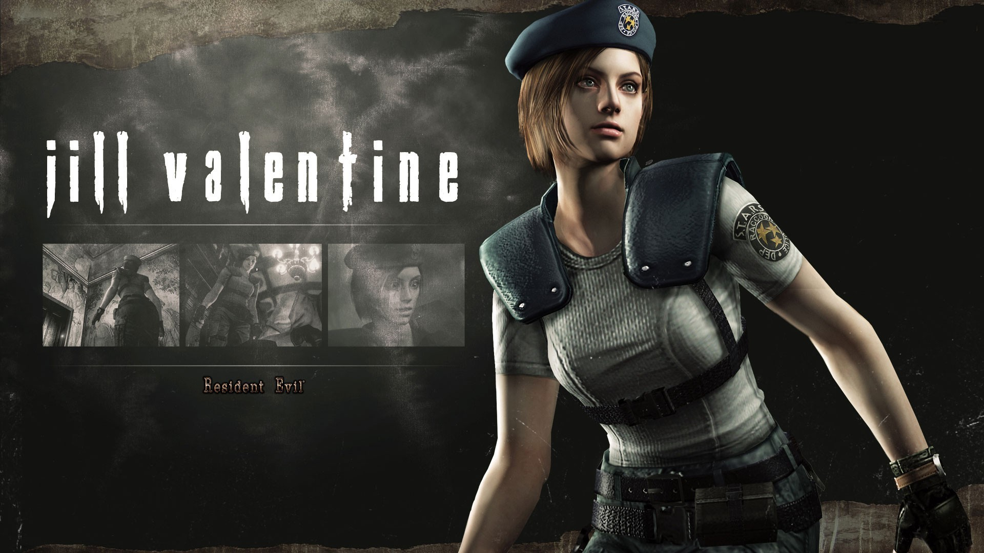 Jill Valentine from the game Resident Evil HD Remaster wallpapers and .