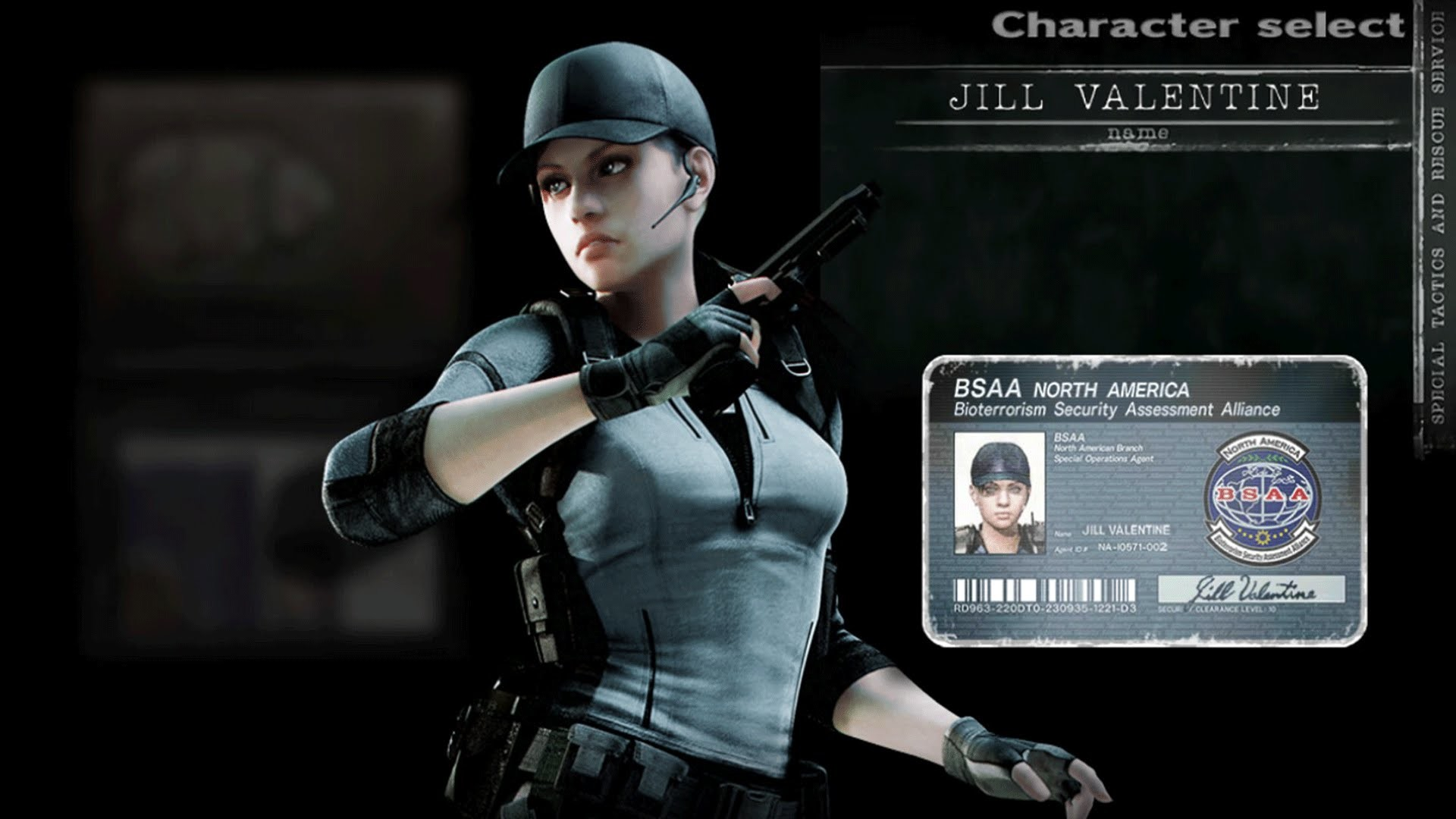 Jill Valentine BSAA Outfit RE5 Skin Resident Evil HD Remaster [1080p60]