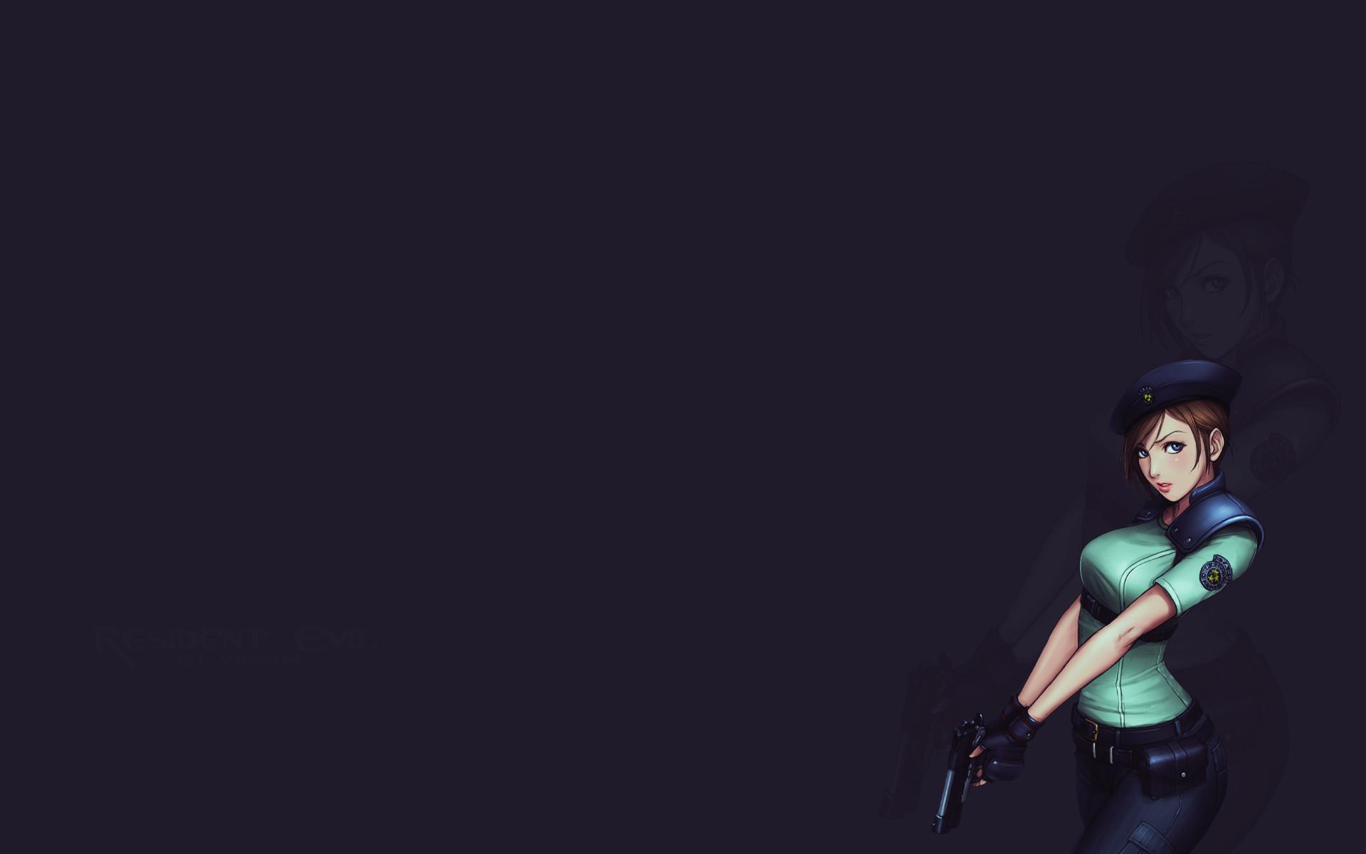 Resident Evil Jill Valentine artwork wallpaper | | 214107 |  WallpaperUP