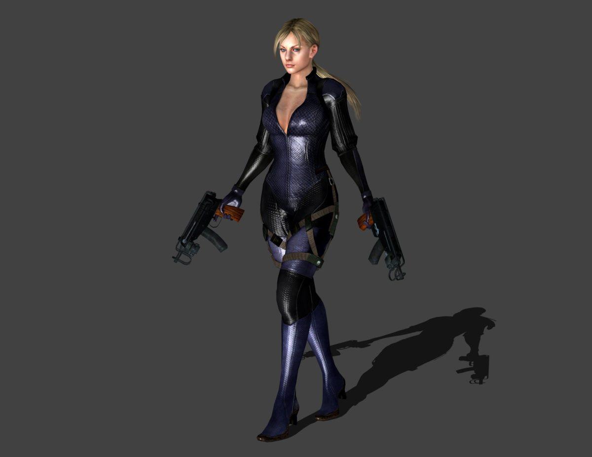 Resident Evil 5 Jill Valentine Mg Stand By Ishikahiruma