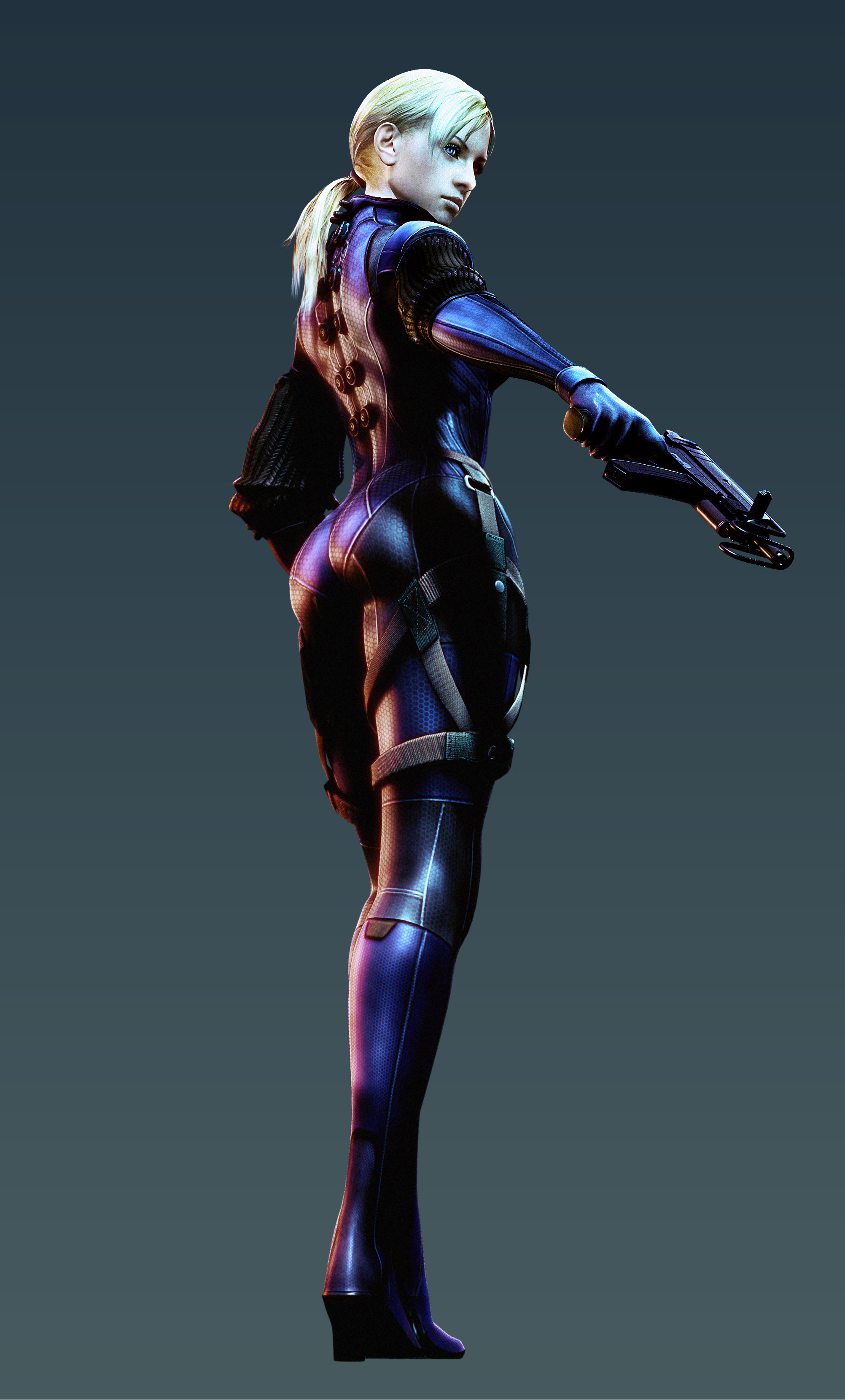 Jill Valentine, Resident Evil 5. I always did like that outfit!