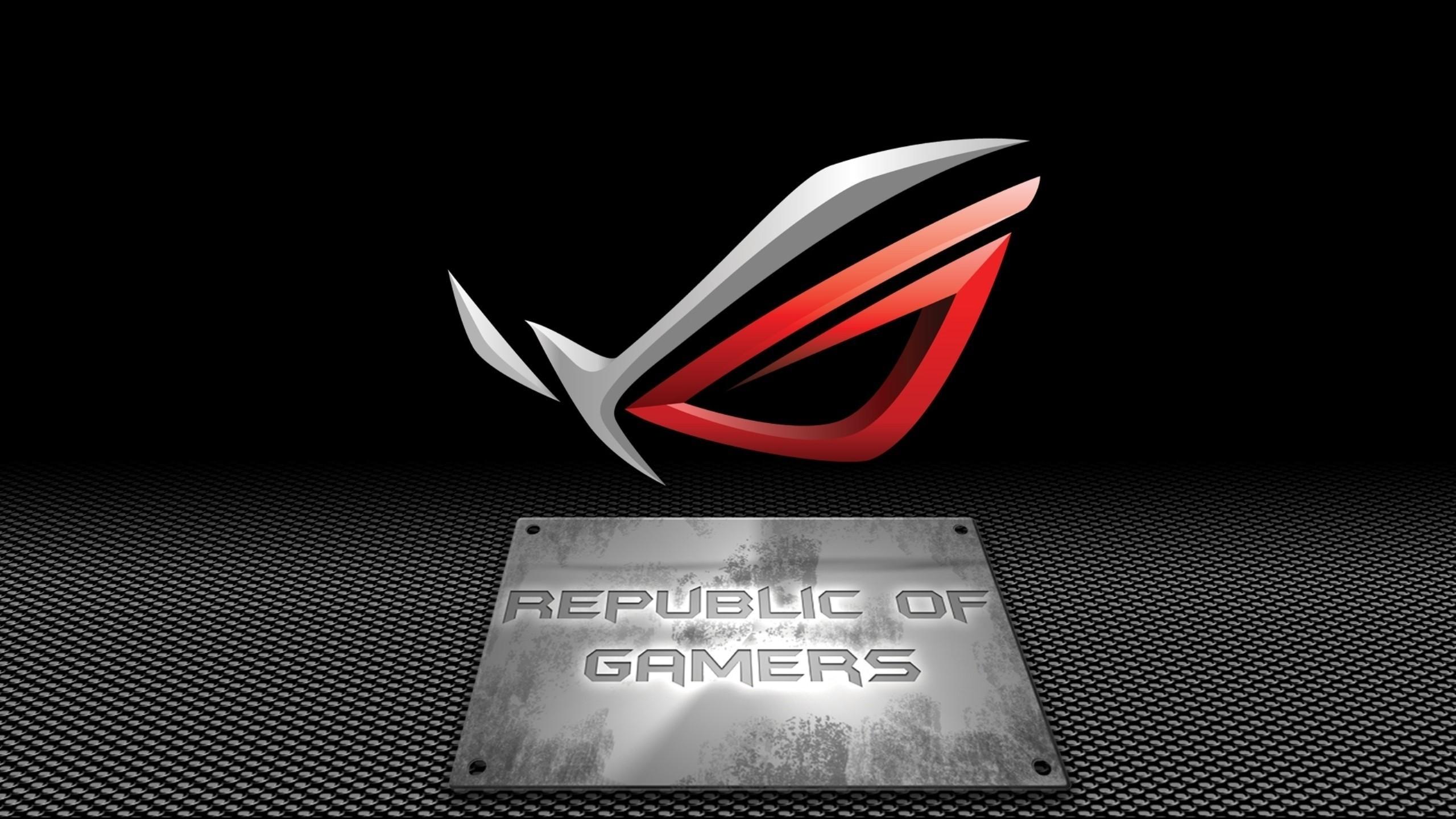 Asus rog republic of gamers wallpaper   via www.allwallpaper.in   (  2560×1440