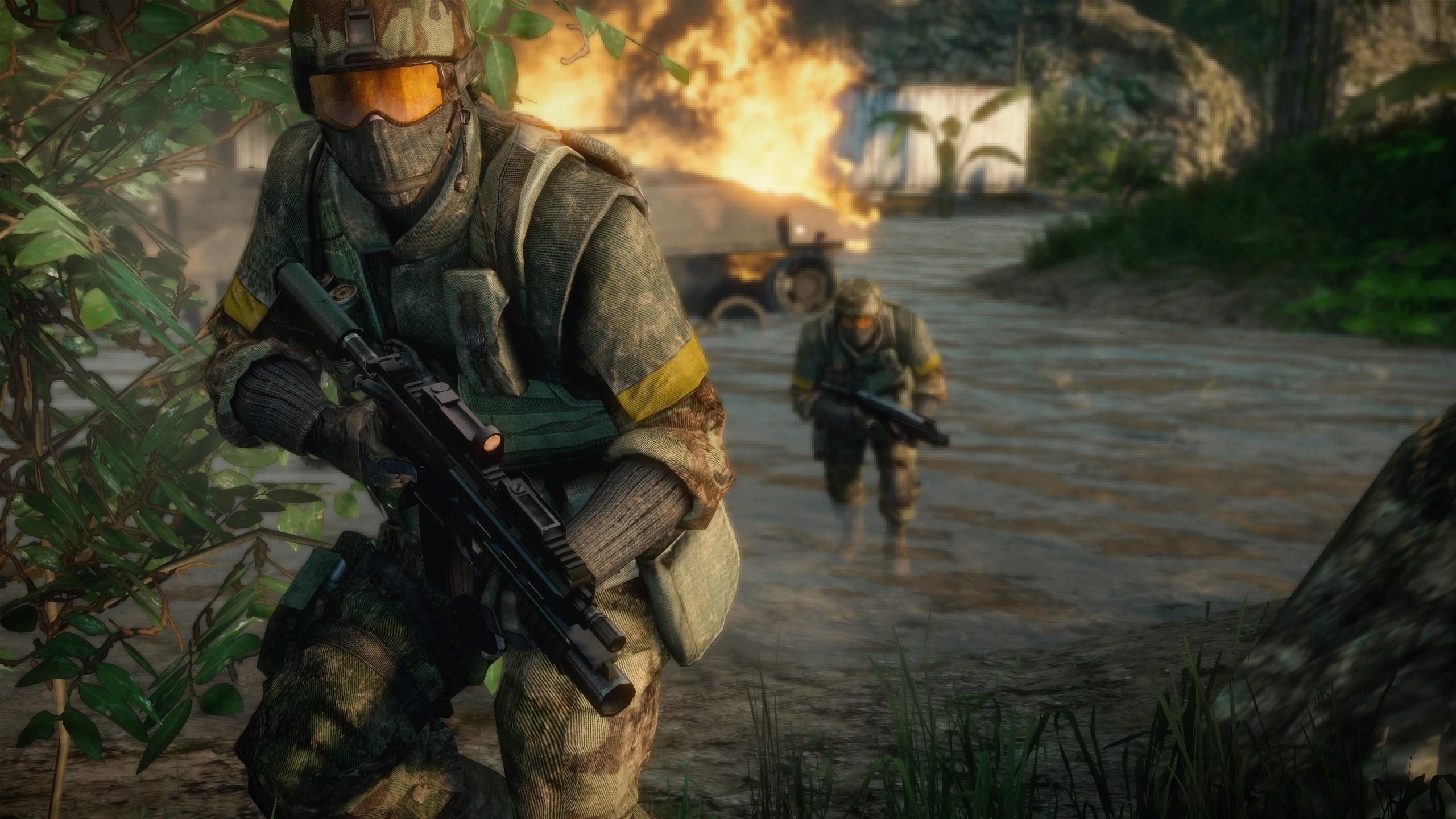 Wallpapers Battlefield Battlefield 2 Games 2560×1440