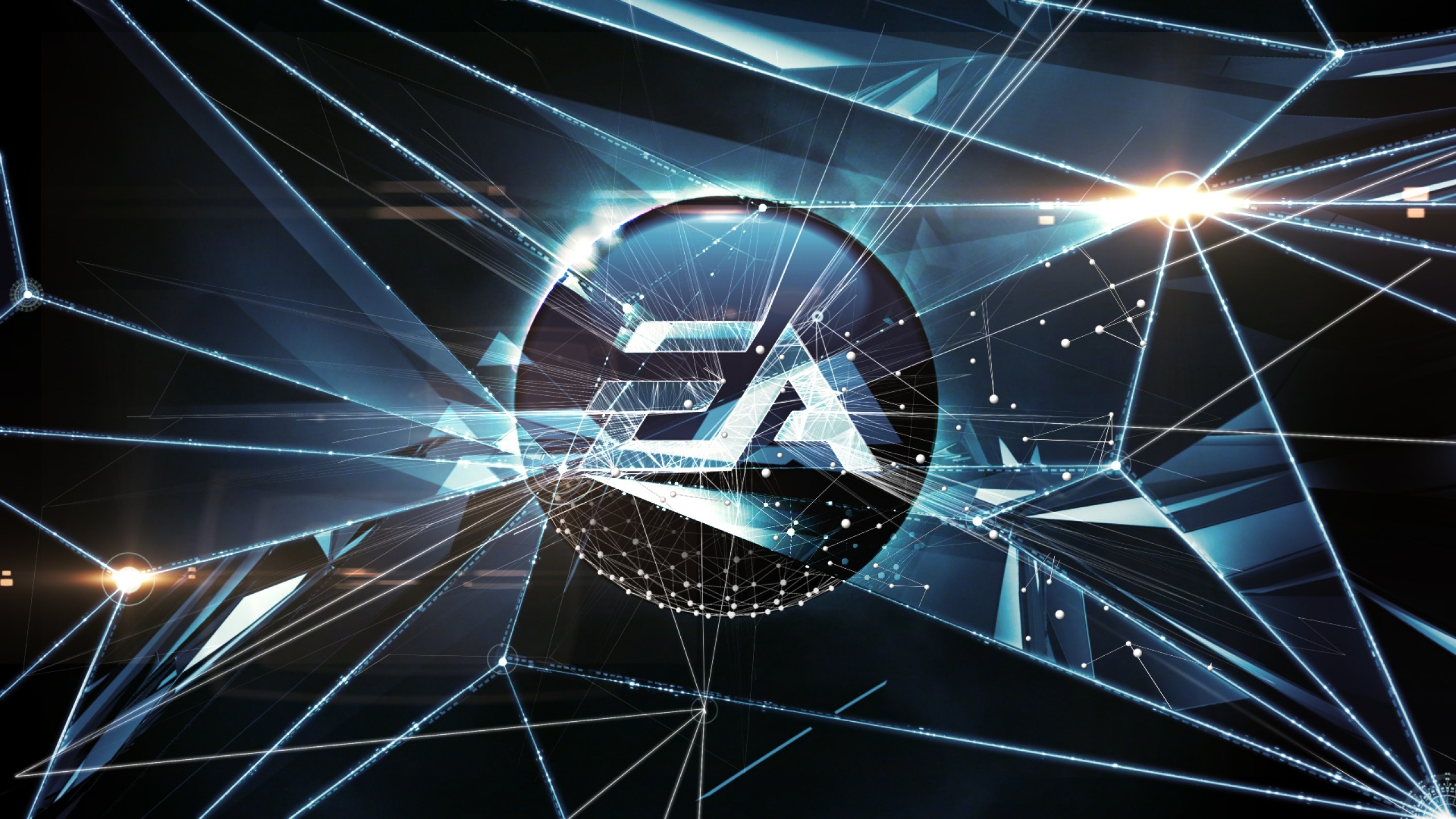 Wallpaper electronic arts, art, corporation, logo, video games