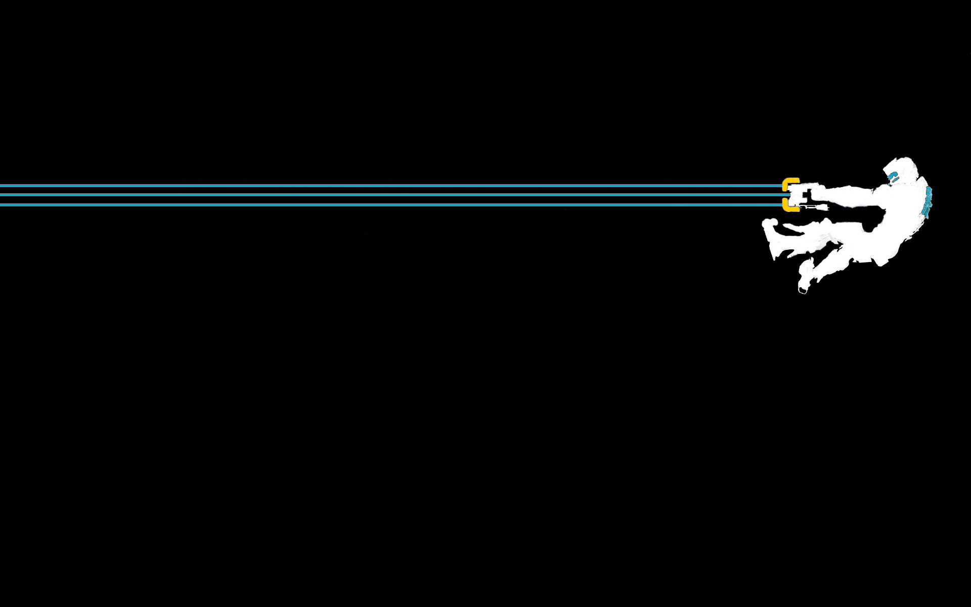 A small collection of video game minimalist wallpapers