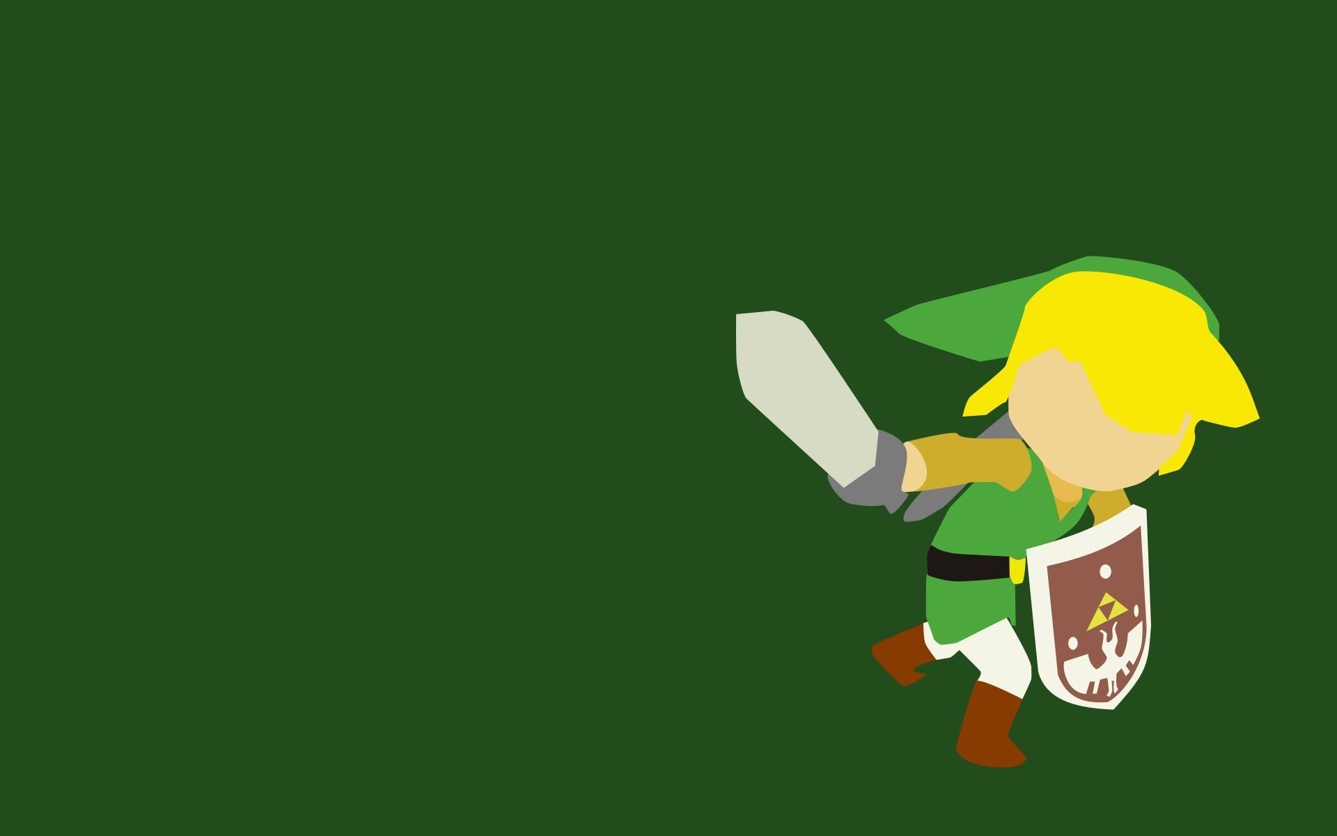 Link, The Legend Of Zelda, Minimalism, Video Games Wallpapers HD / Desktop  and Mobile Backgrounds
