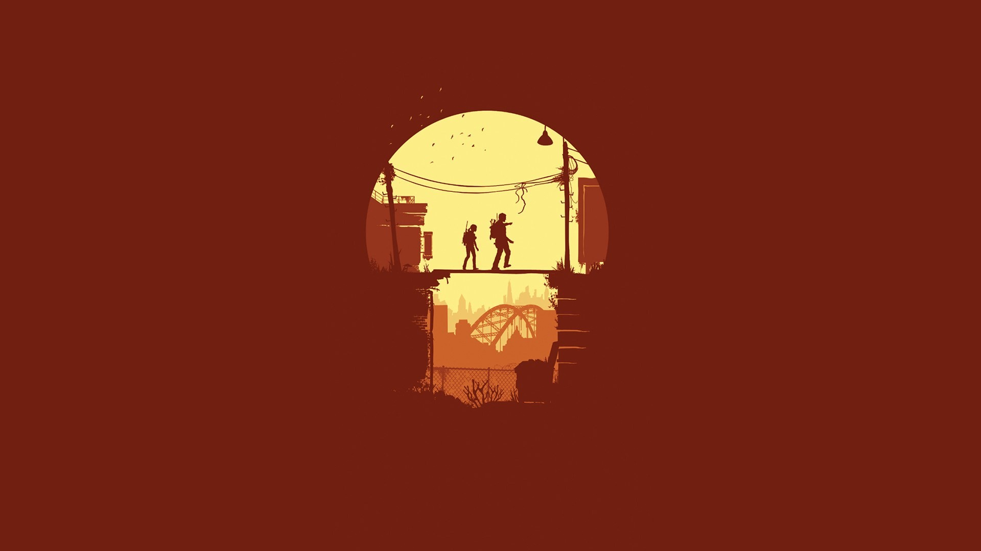 minimalist wallpaper video game …