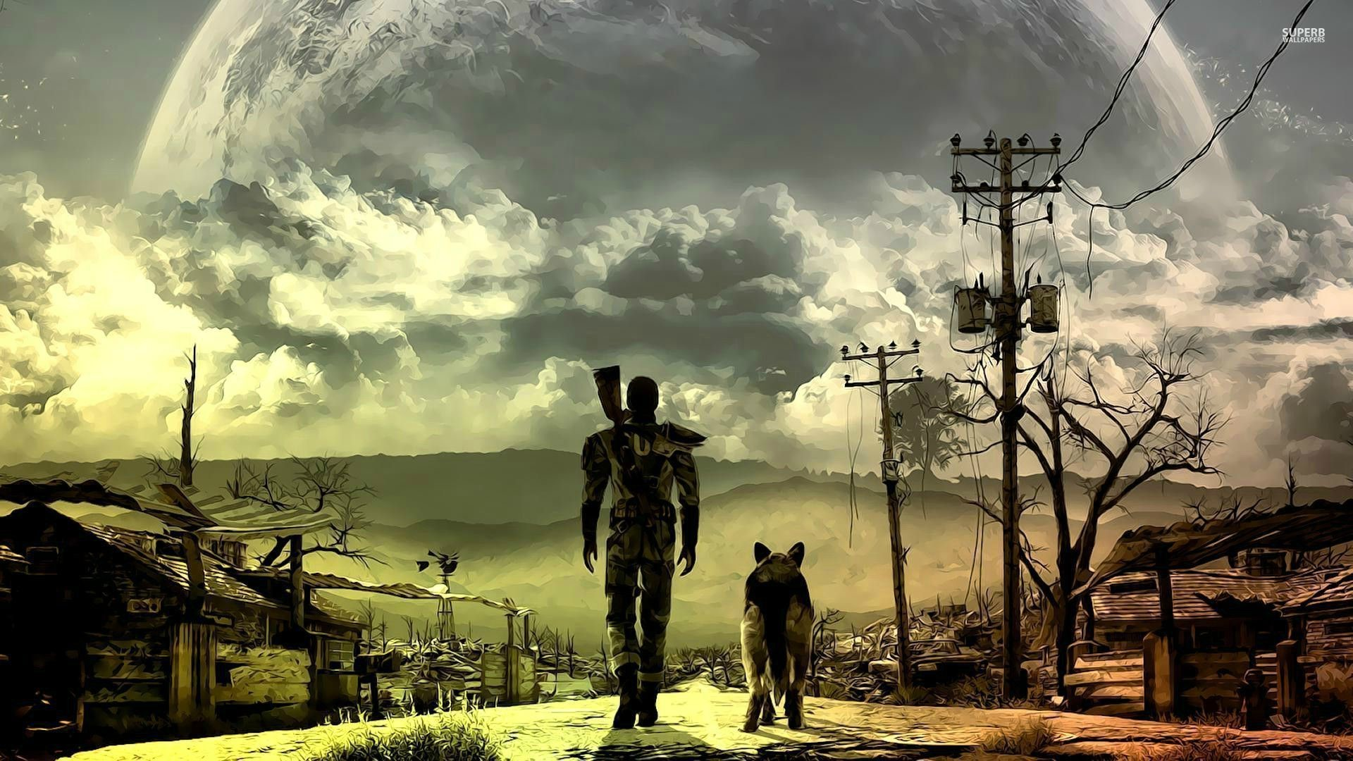 Vault Boy – Fallout wallpaper – Game wallpapers – #27604