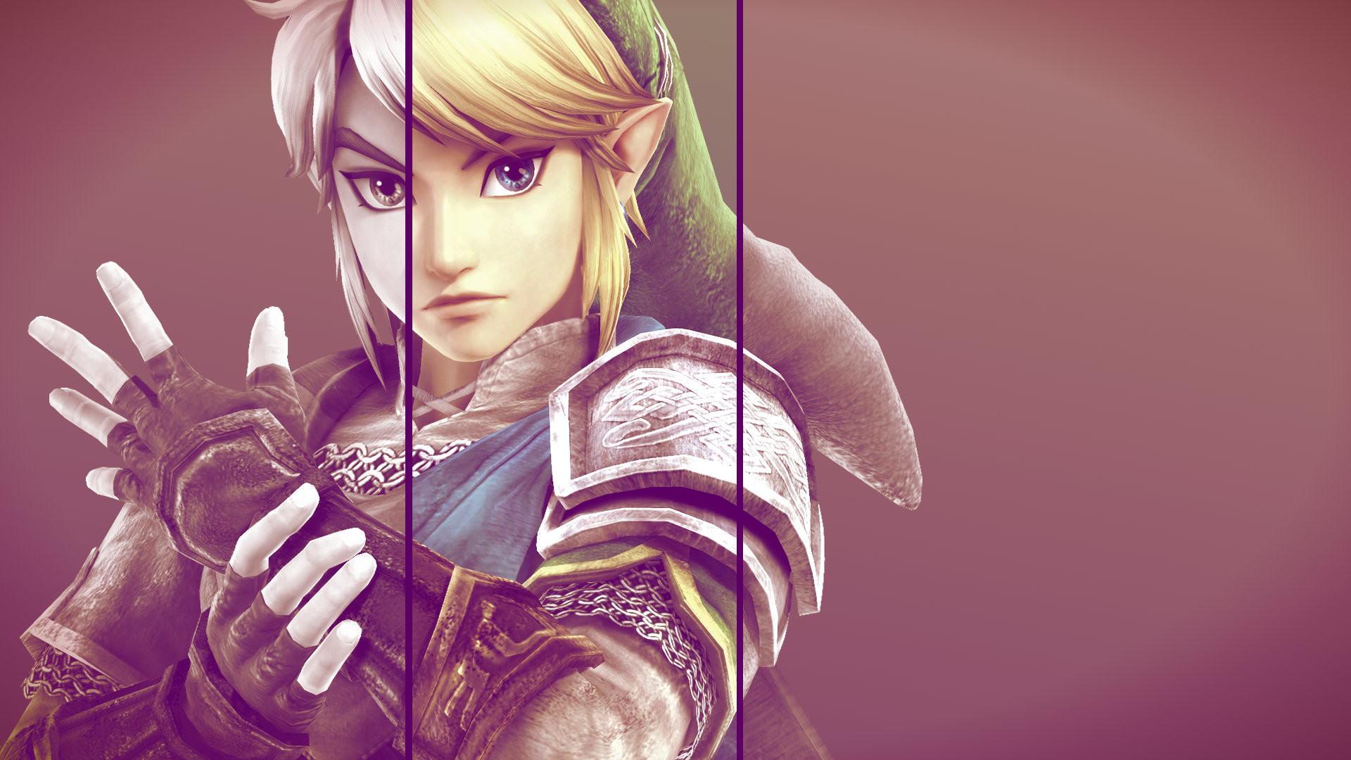 … Link wallpaper by Midna-angel