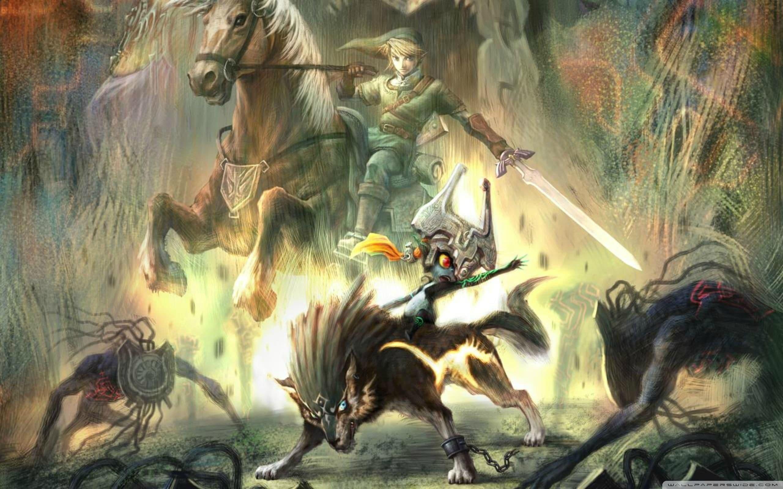 The Legend of Zelda: Twilight Princess wallpaper