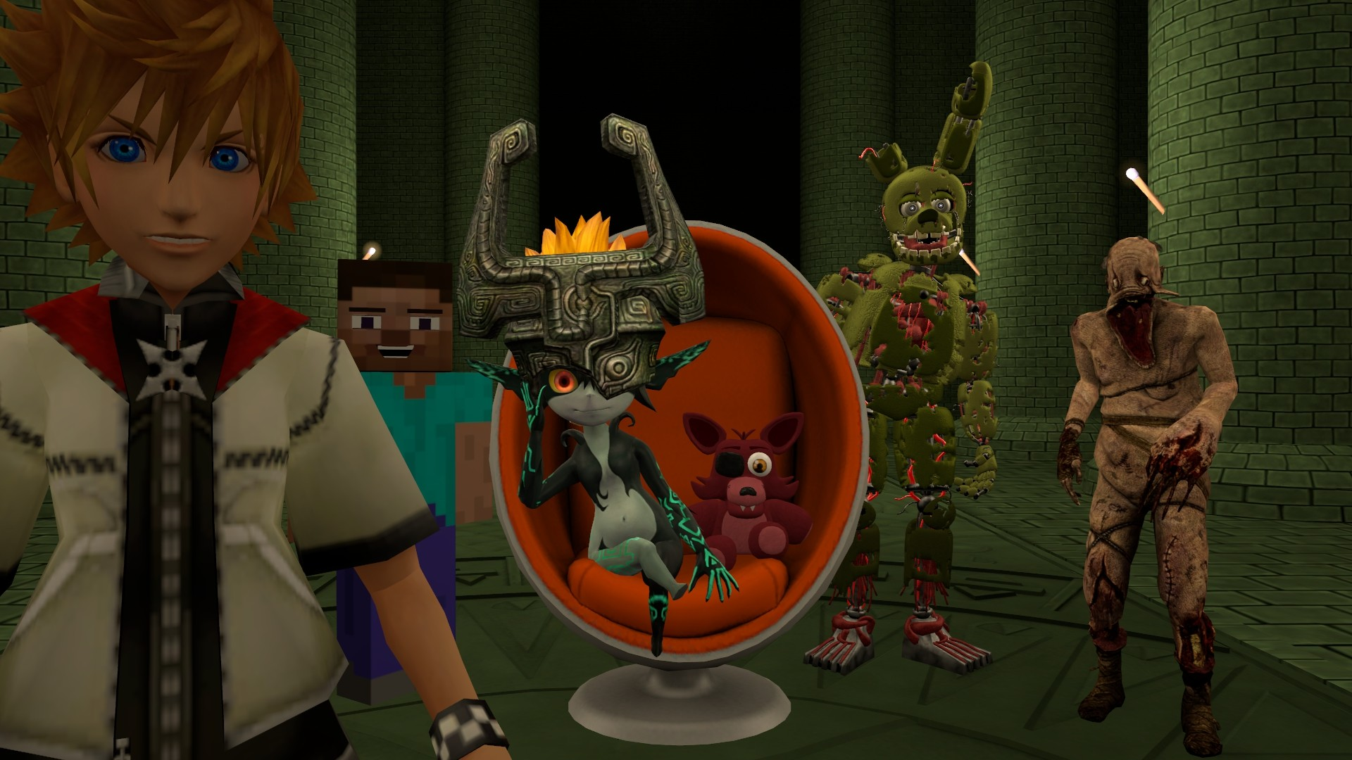 … SFM Midna and Friends