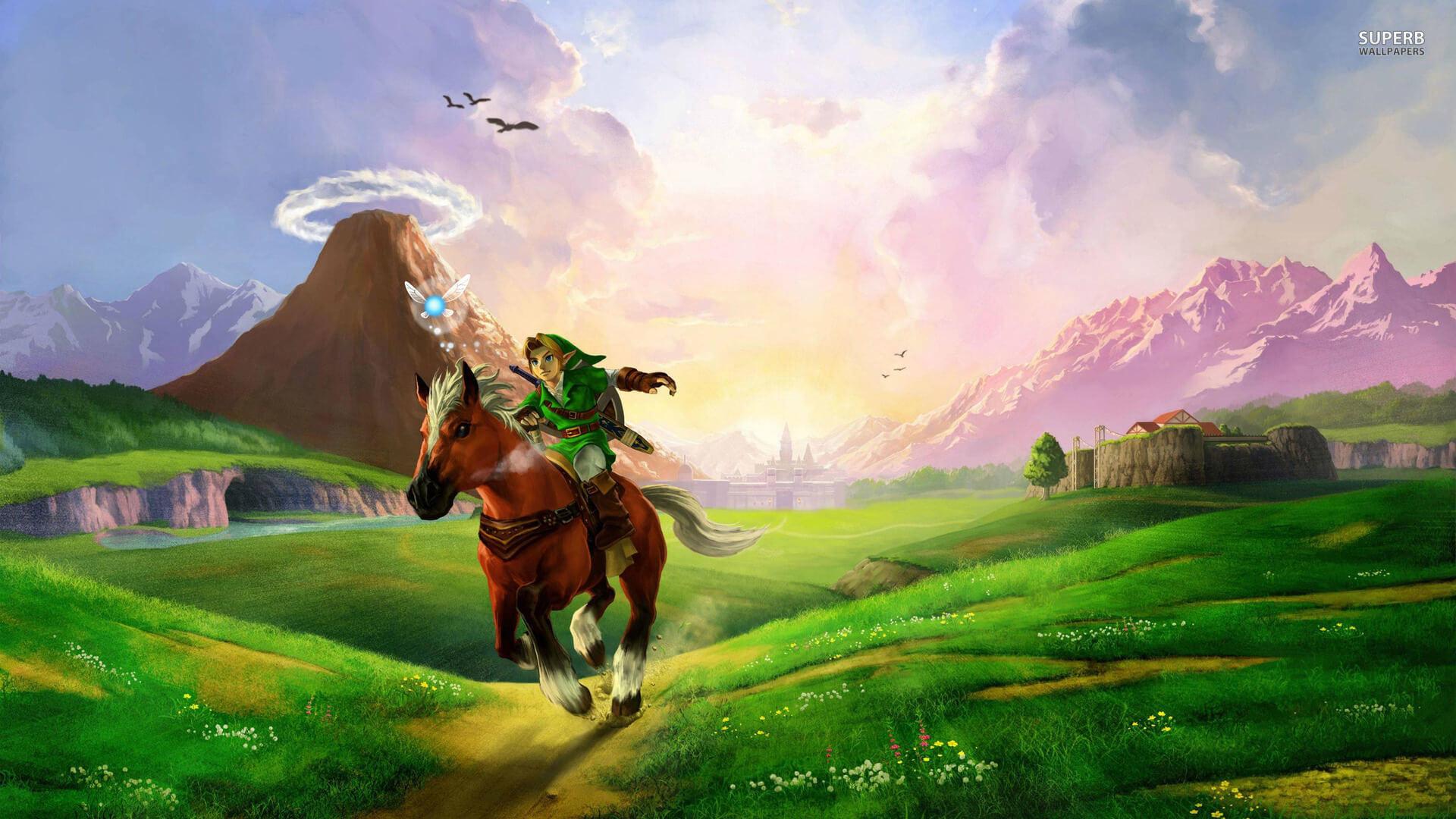Legend Of Zelda Ocarina Of Time Wallpaper Free